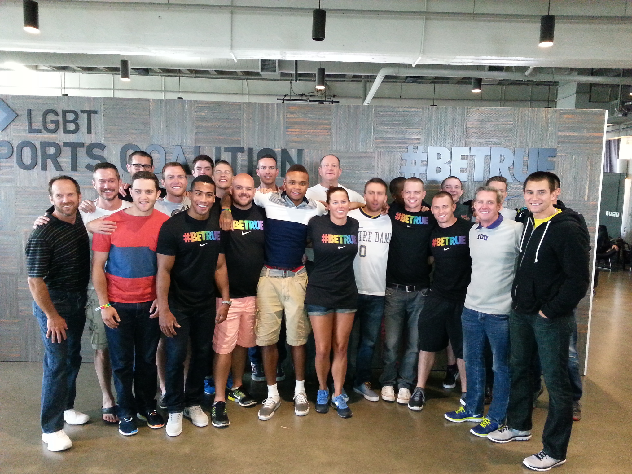 Some of the athletes who have come out on Outsports attended the 2014 Nike LGBT Sports Summit.