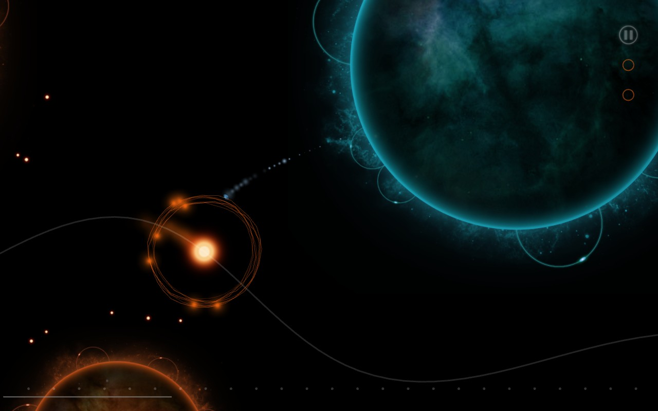 Celestia is a space game that has you sing to save a newborn star