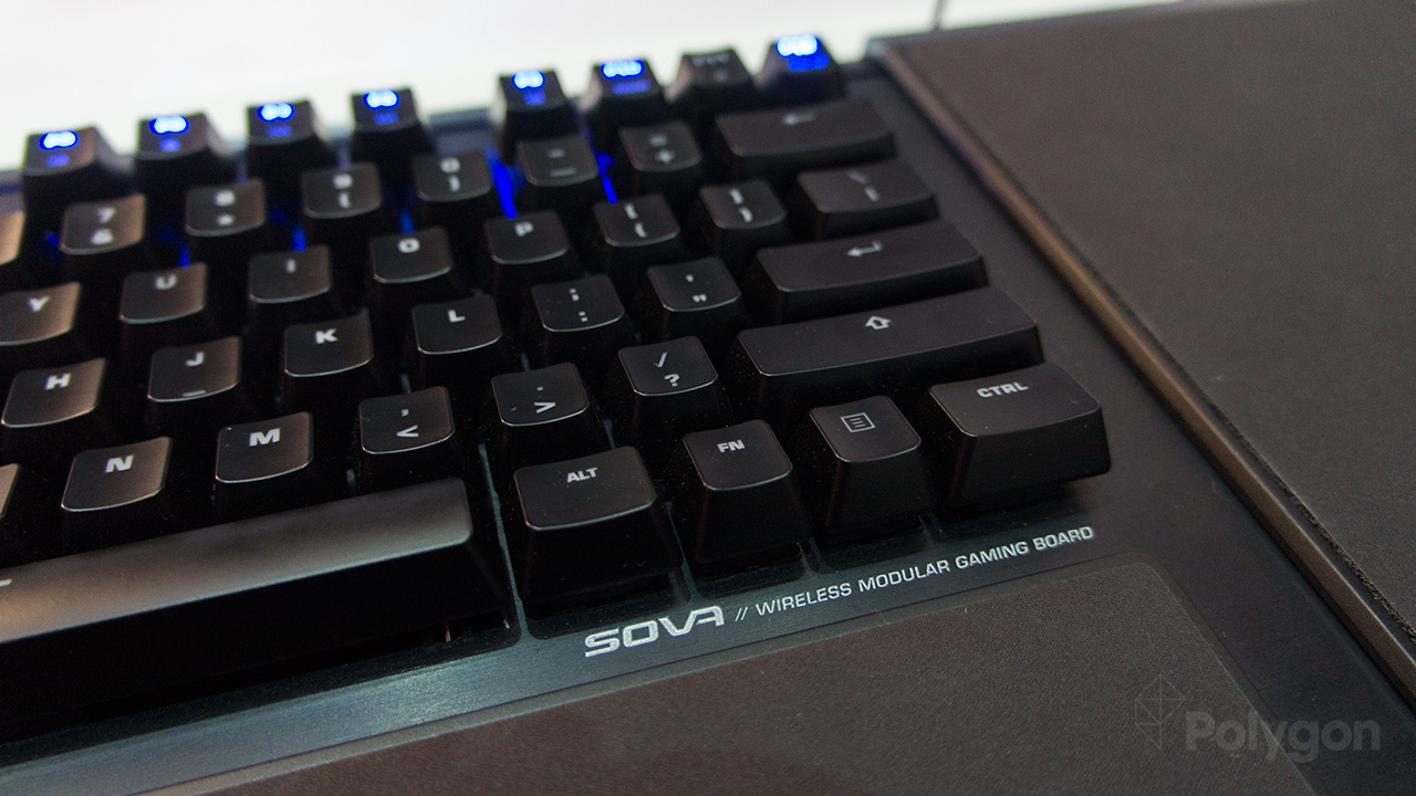 Roccat's Sova lapboard looks to facilitate PC gaming in the living room