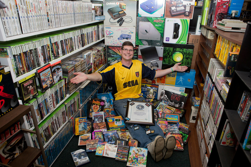 The world's largest video game collection sells for $750K at auction