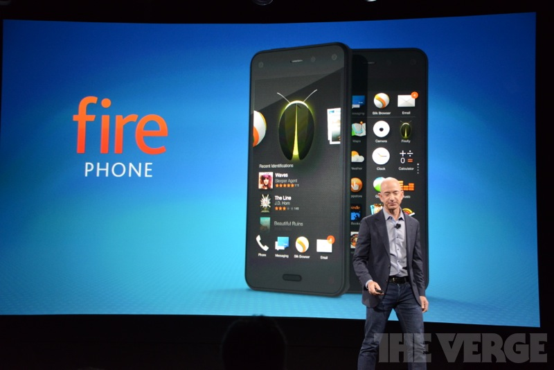 Amazon's Fire Phone brings tilt-controlled 'dynamic perspective' to mobile games
