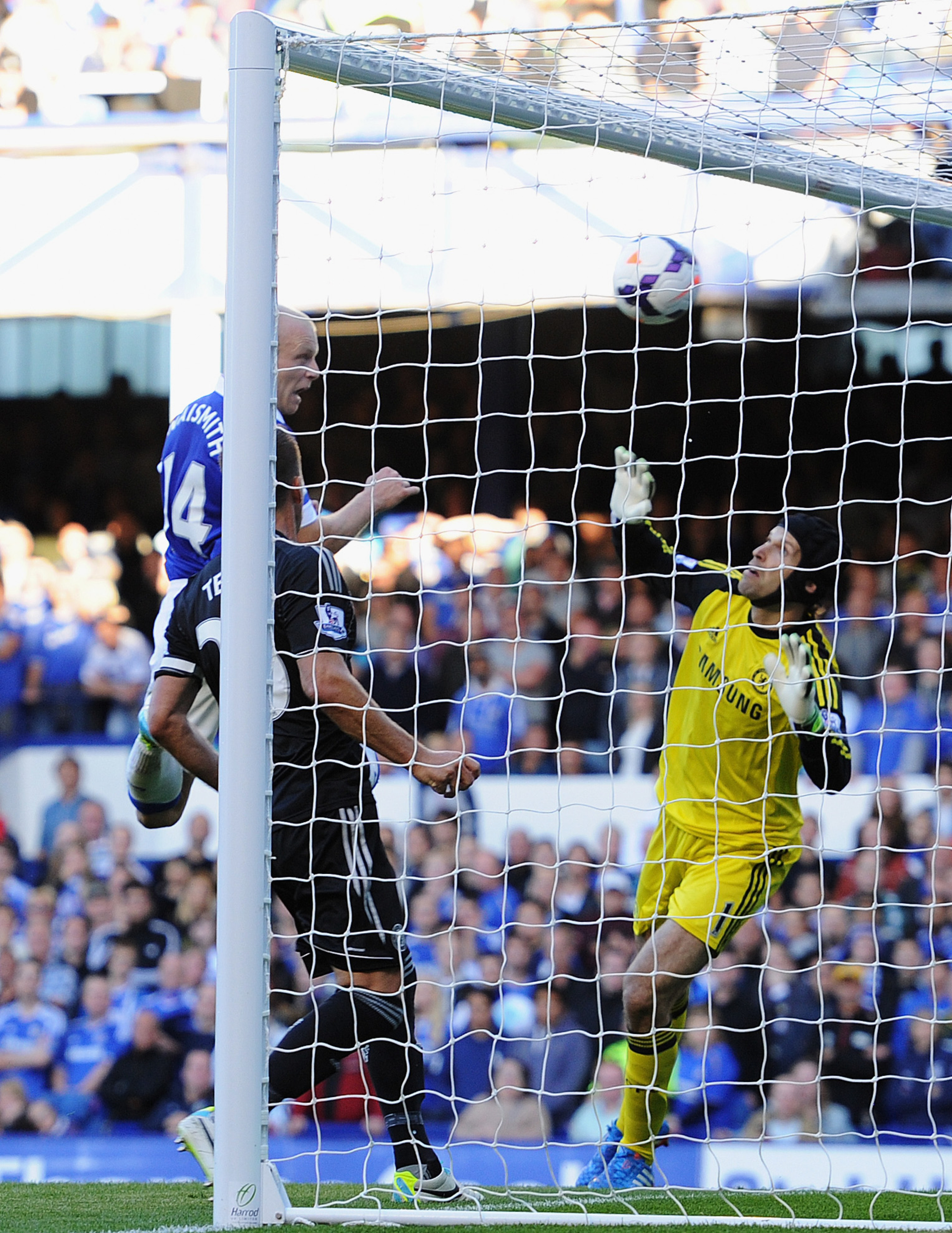 Naismith heads home his biggest goal of the season.