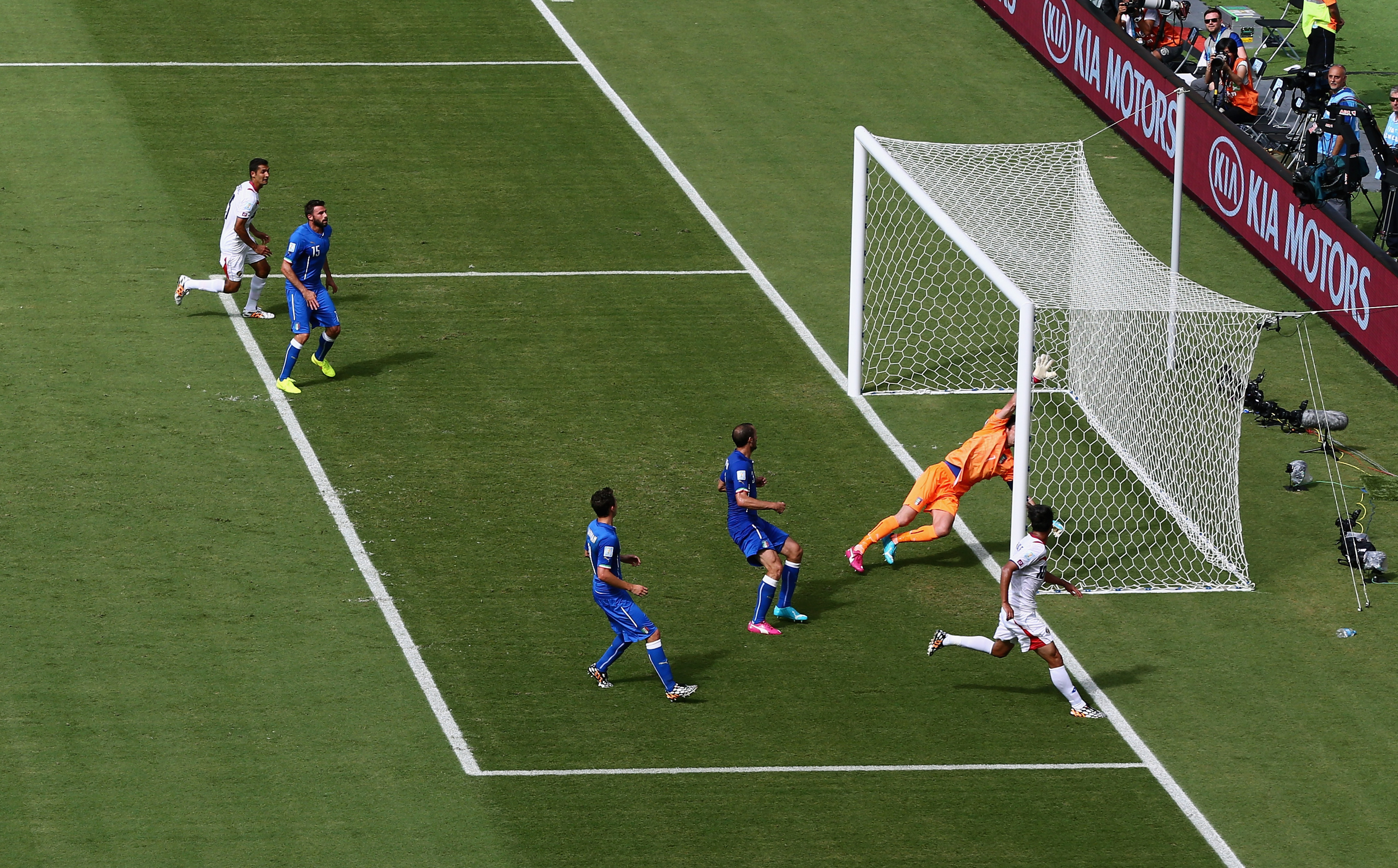 Italy vs. Costa Rica, 2014 World Cup: Ticos produce another upset