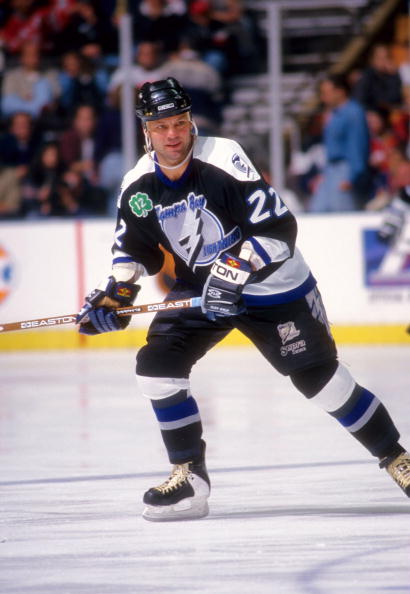 Dino Ciccarelli, one of only two Hall of Famers to have ever skated for the Lightning