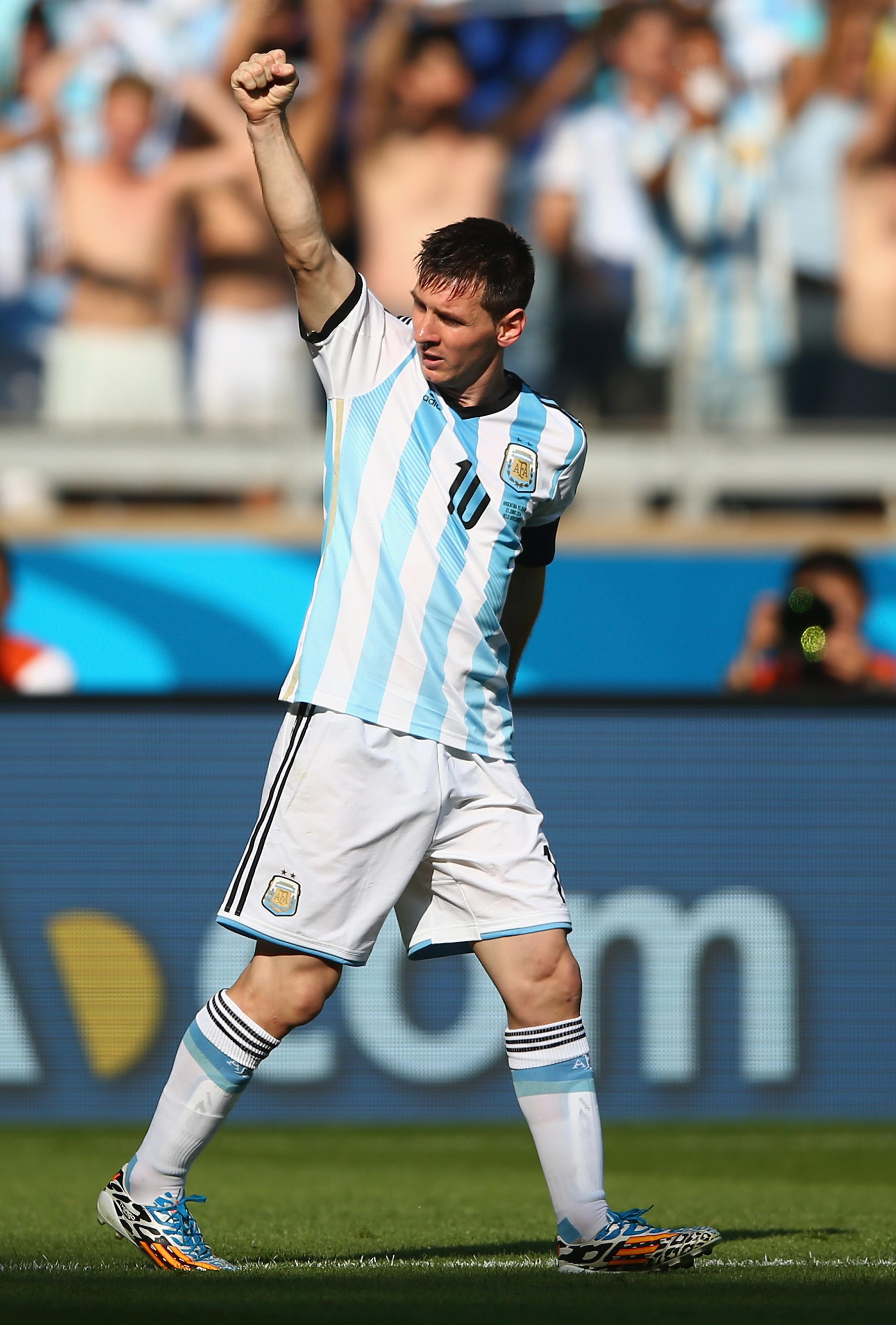 Argentina vs. Iran, 2014 World Cup: Lionel Messi rescues Albiceleste