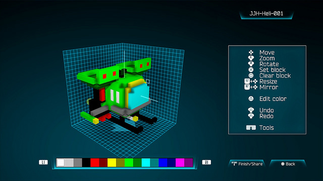 Resogun's local co-op, ship editor, arrives this weekend for free