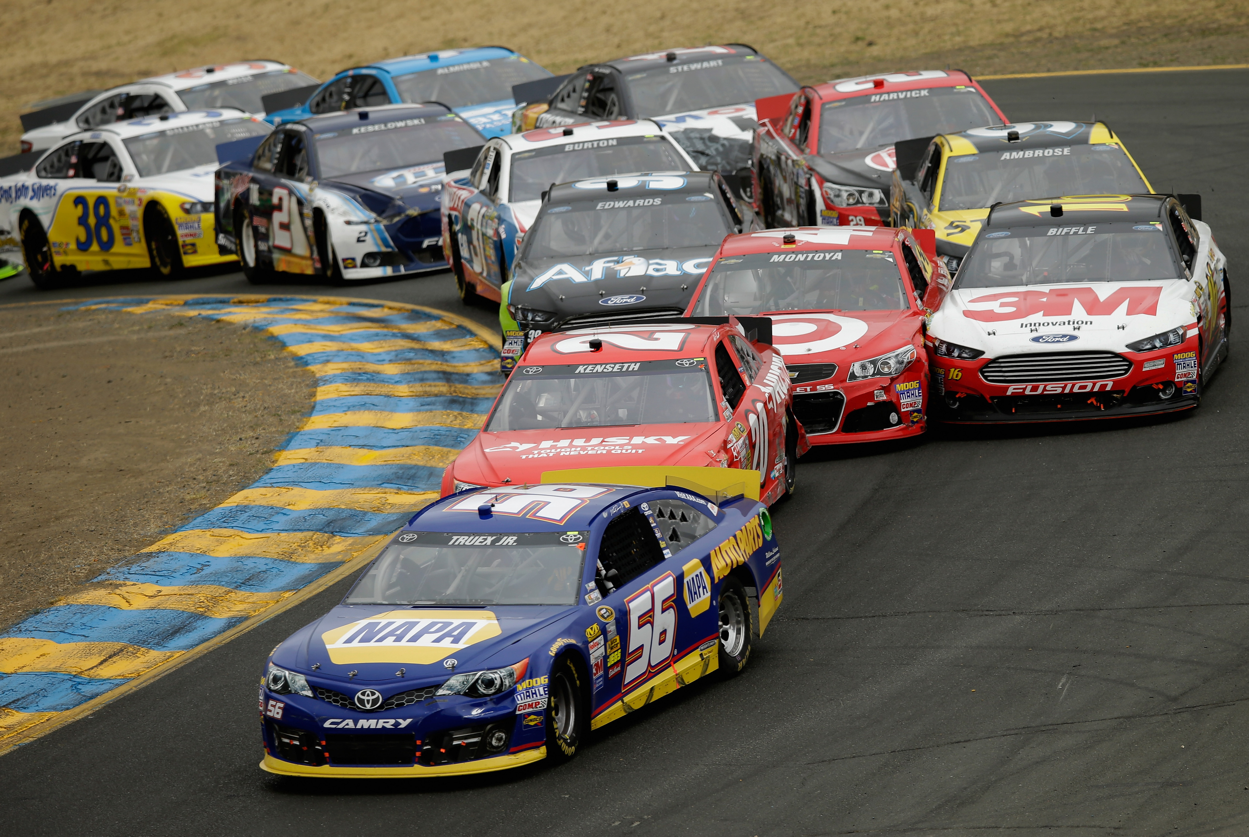 Toyota/Save Mart 350: Wild, chaotic Sonoma offers unique challenge