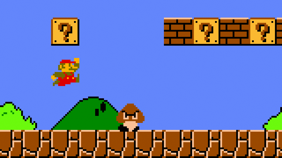Just how fast is Mario, and how far does he run in Super Mario Bros.?