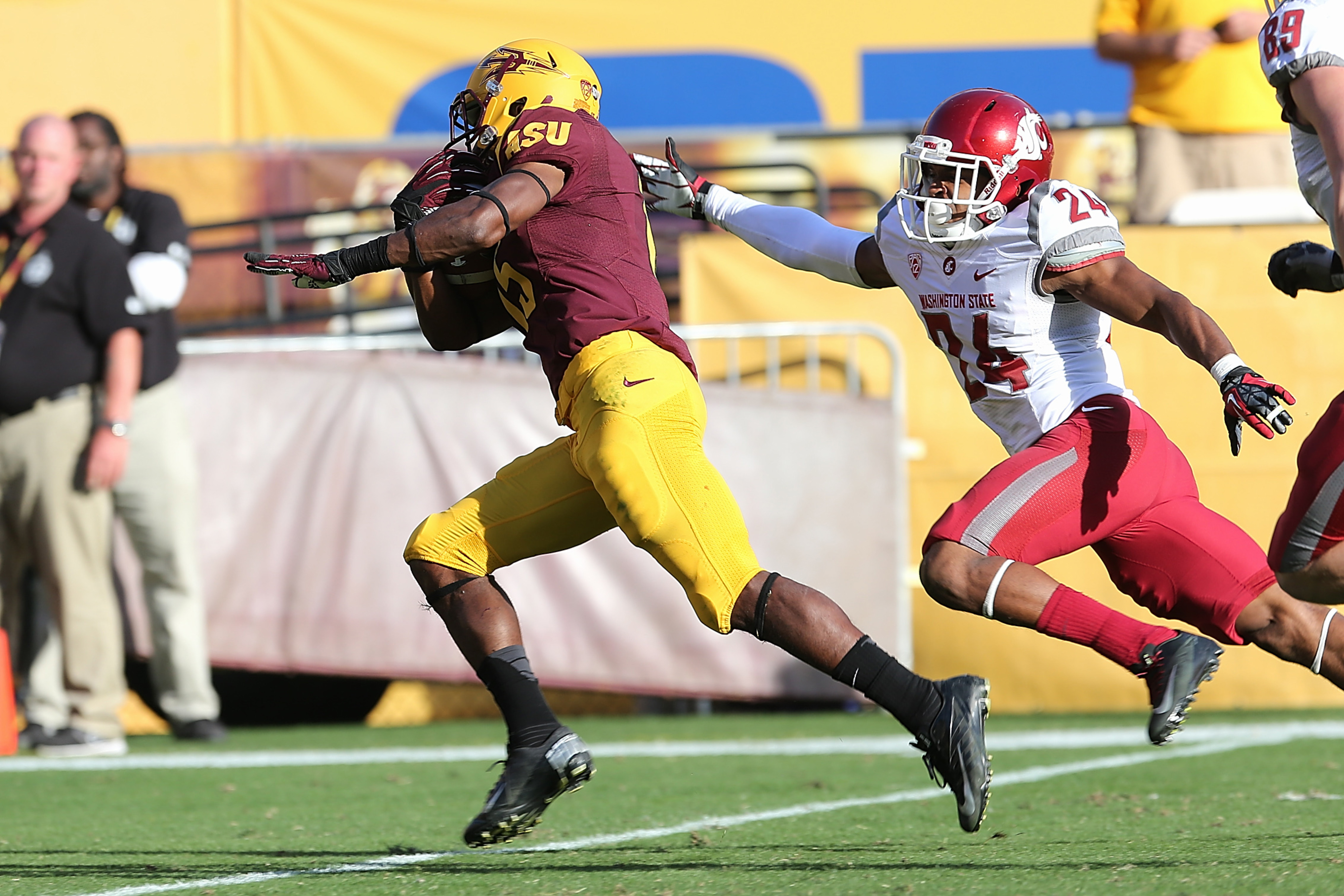 Rashad Ross and the Sun Devils ran right past the Washington State Cougars