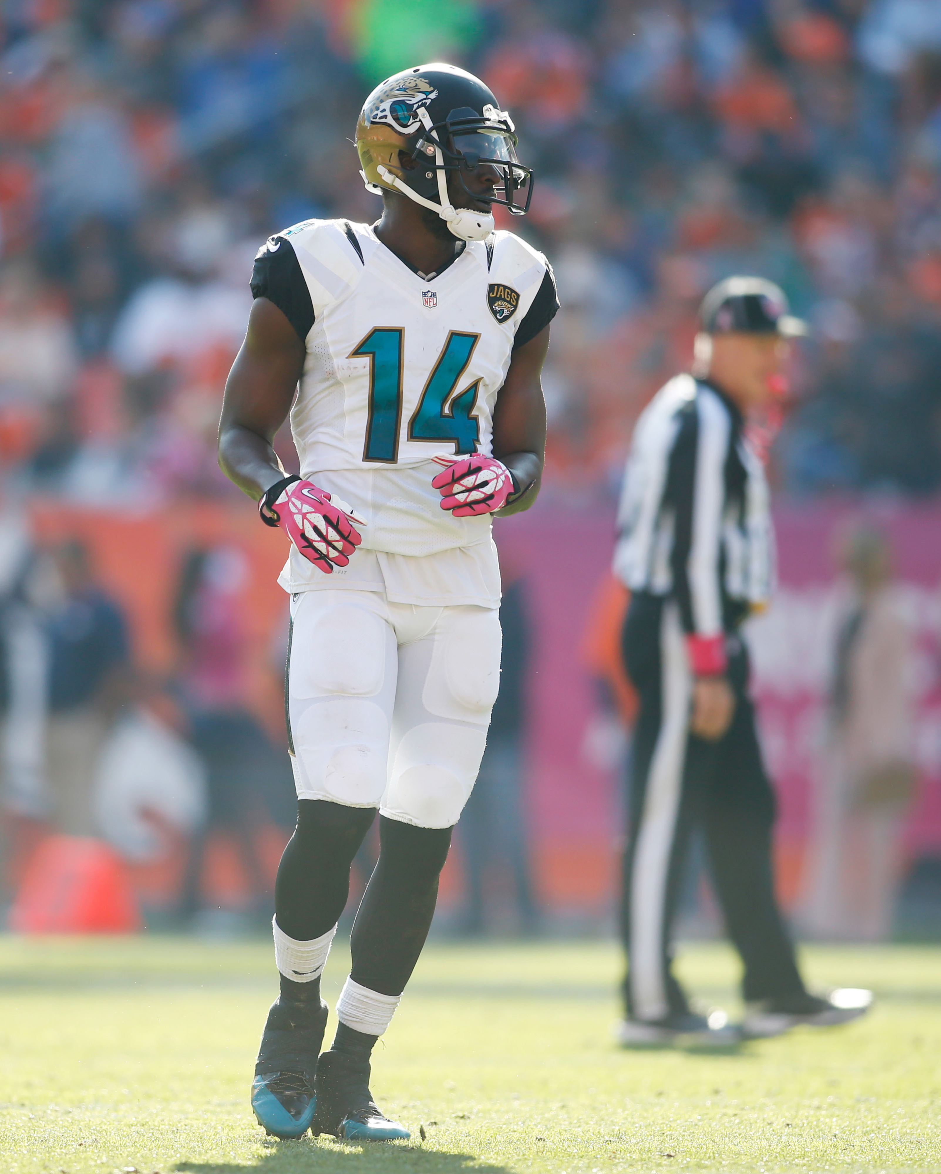 Jaguars can't get ahold of Justin Blackmon