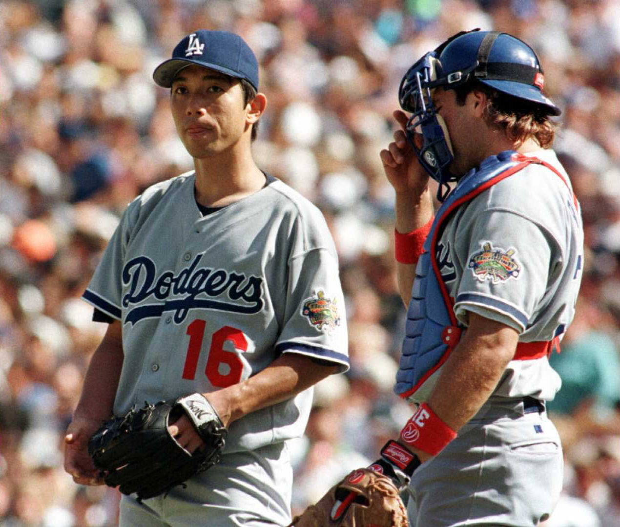 Hideo Nomo lost in San Diego five days after throwing a no-hitter at Coors Field in 1996.