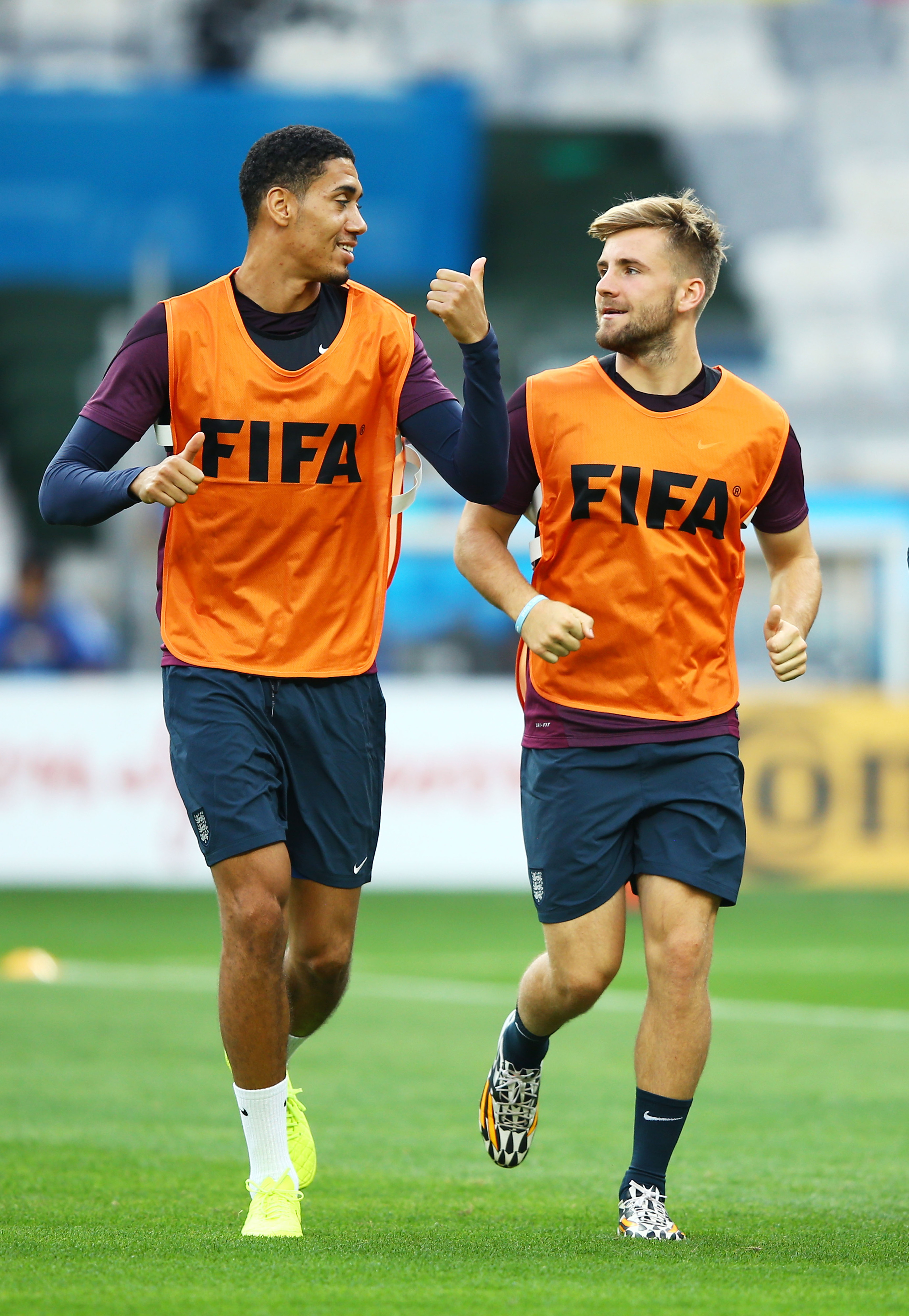 Smalling and Shaw are set to make their World Cup debut against Costa Rica later tonight. Photo credit