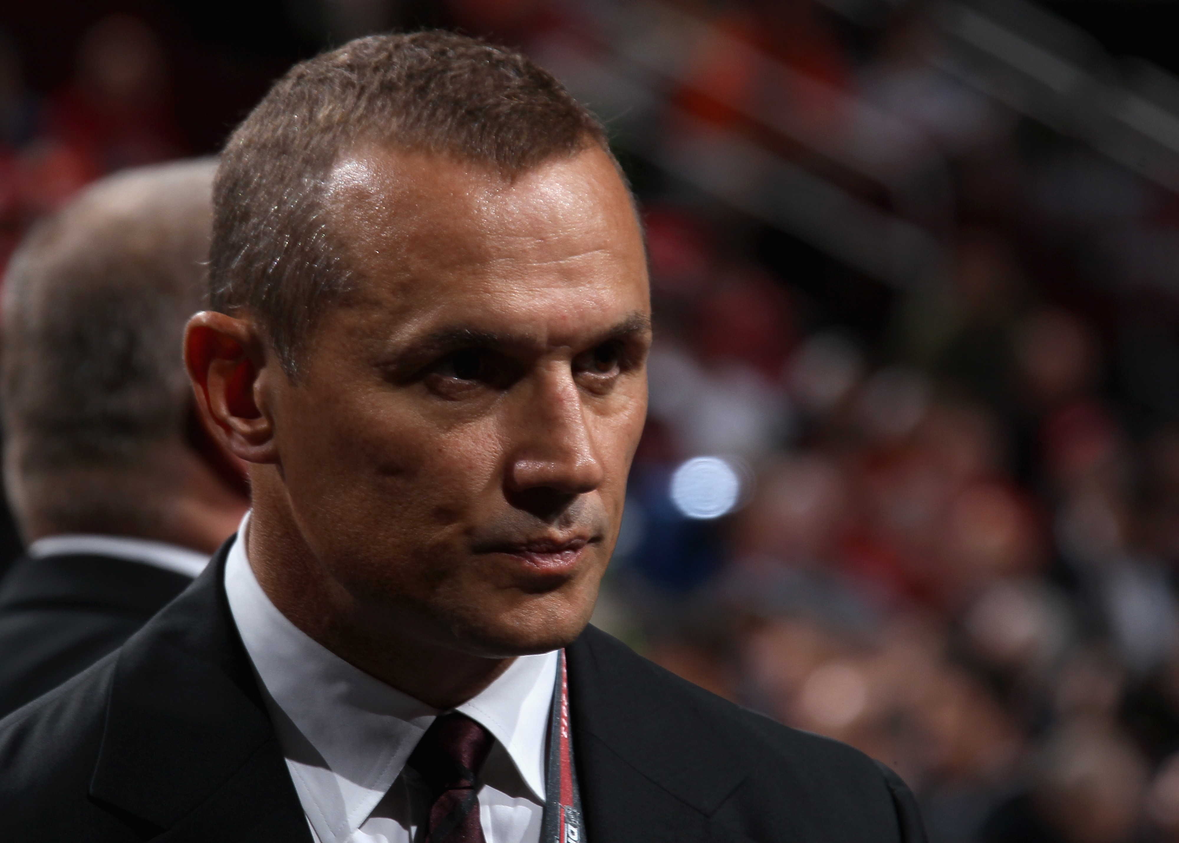 Lightning GM Steve Yzerman will be in Philadelphia for this year's draft, an event that Lightning fans will be following from their homes.