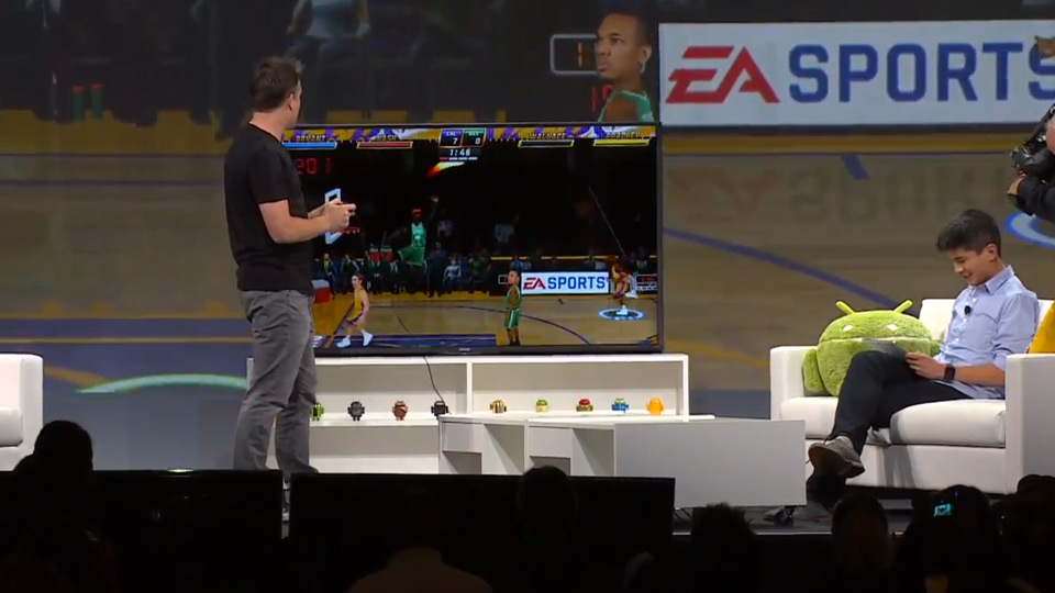 Google's Android TV platform brings mobile games to the living room
