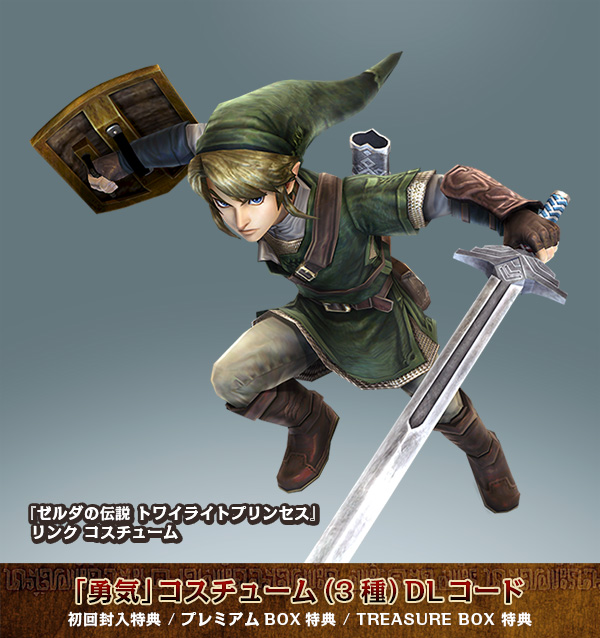 Hyrule Warriors getting Twilight Princess costume DLC in Japan