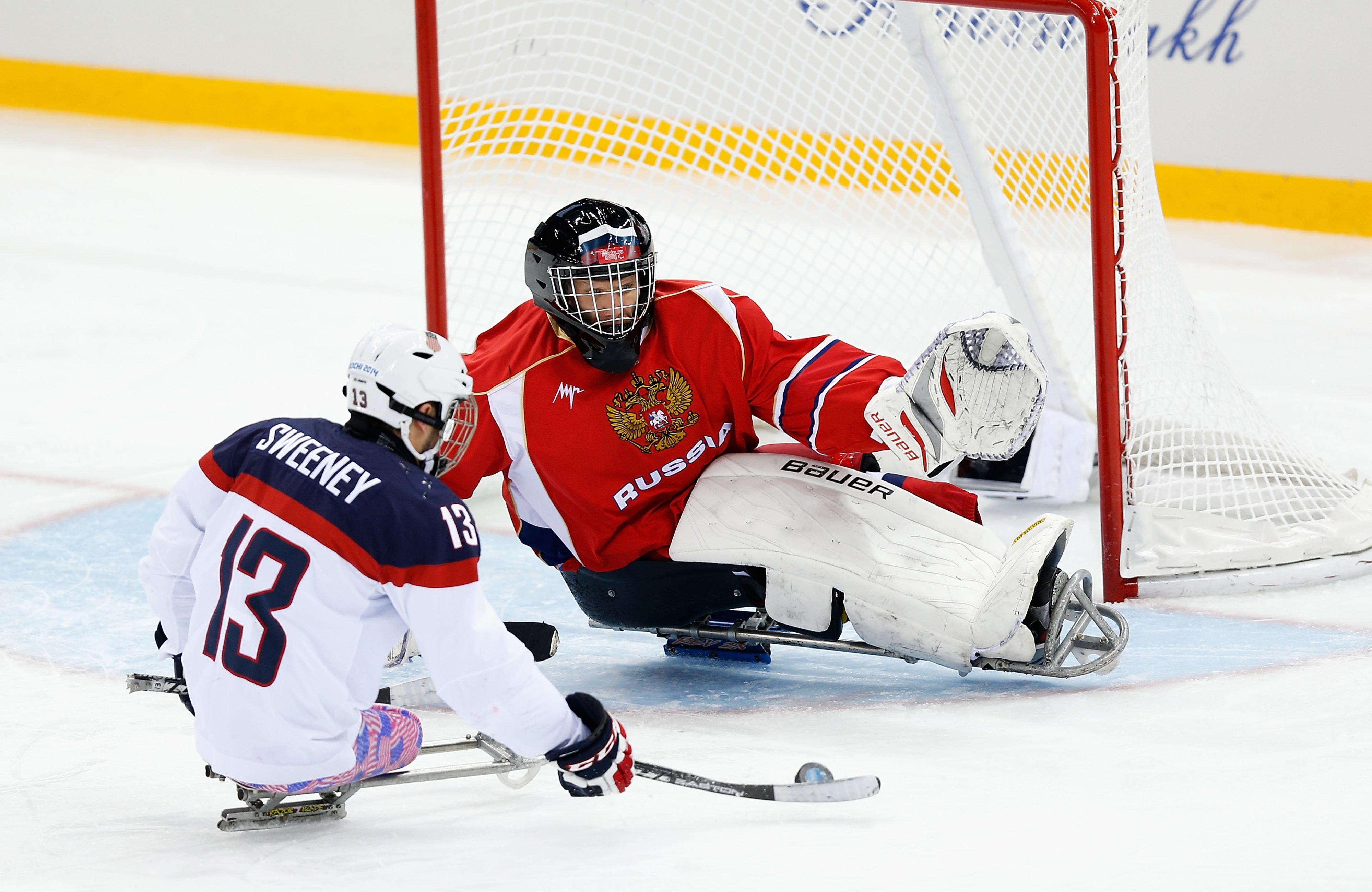 This is not Ilya Sorokin. But it is a Russian goaltender.