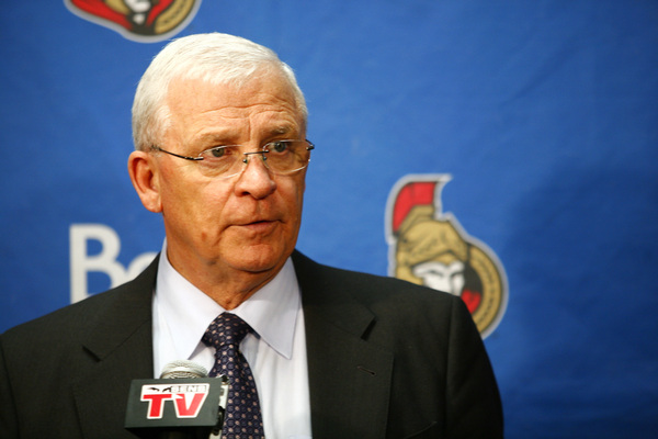 Bryan Murray had a busy day on Saturday