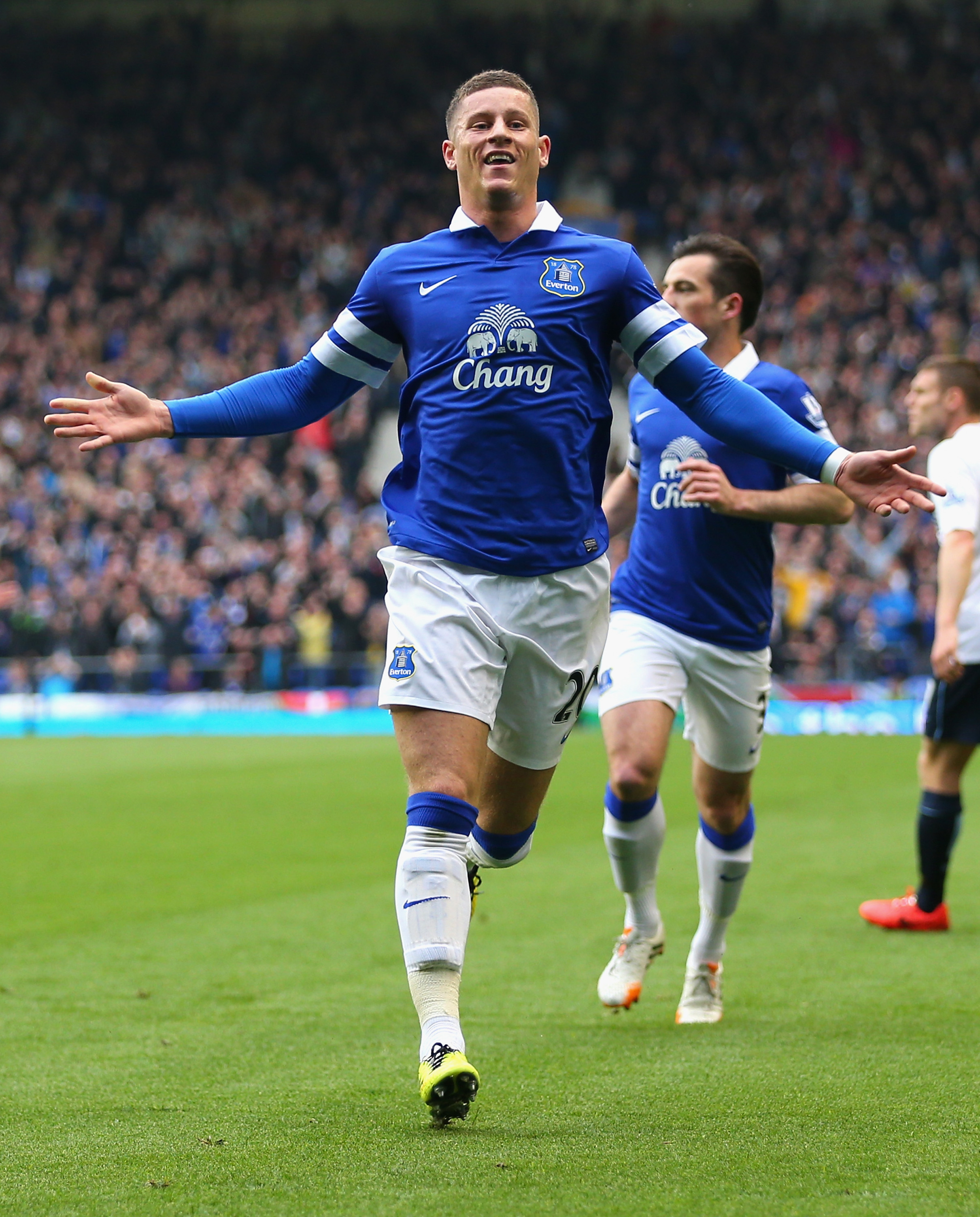 The latter of some thrilling goals from Ross Barkley