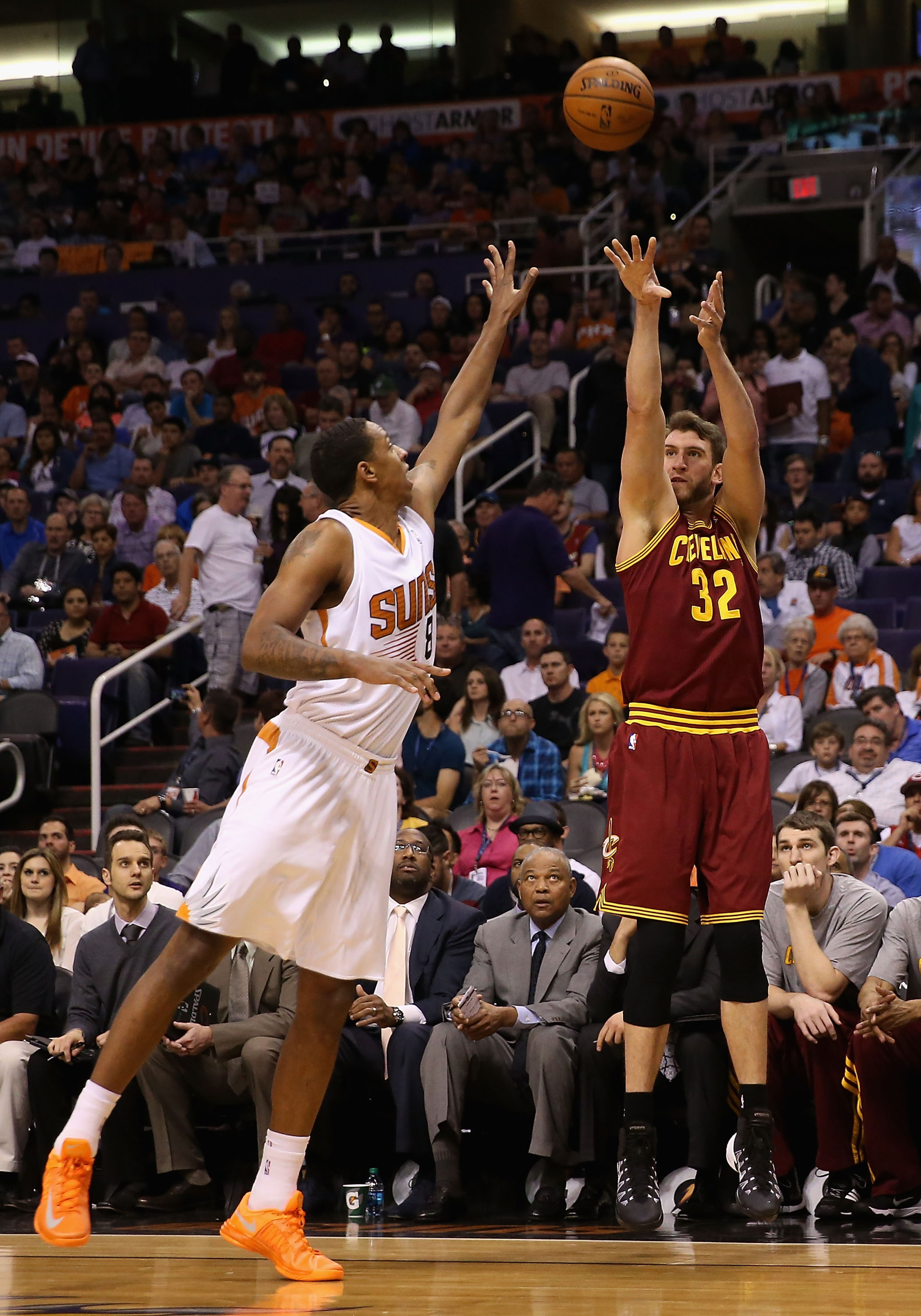 Like Channing Frye, Spencer Hawes is a stretch big but his passing ability distinguishes the two.