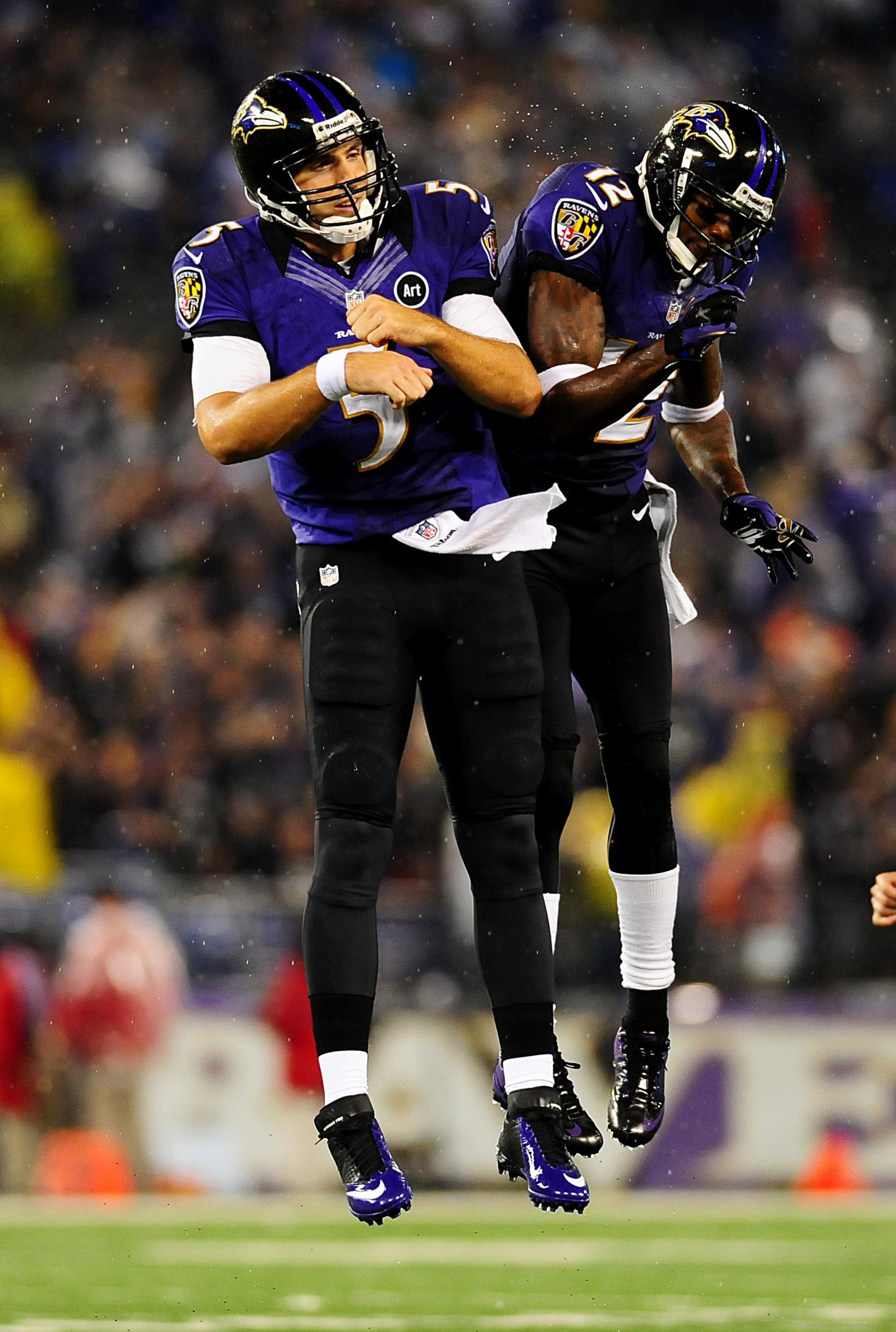 I don't recall seeing a similar shot of Jakespeare and Schaub in Houston.