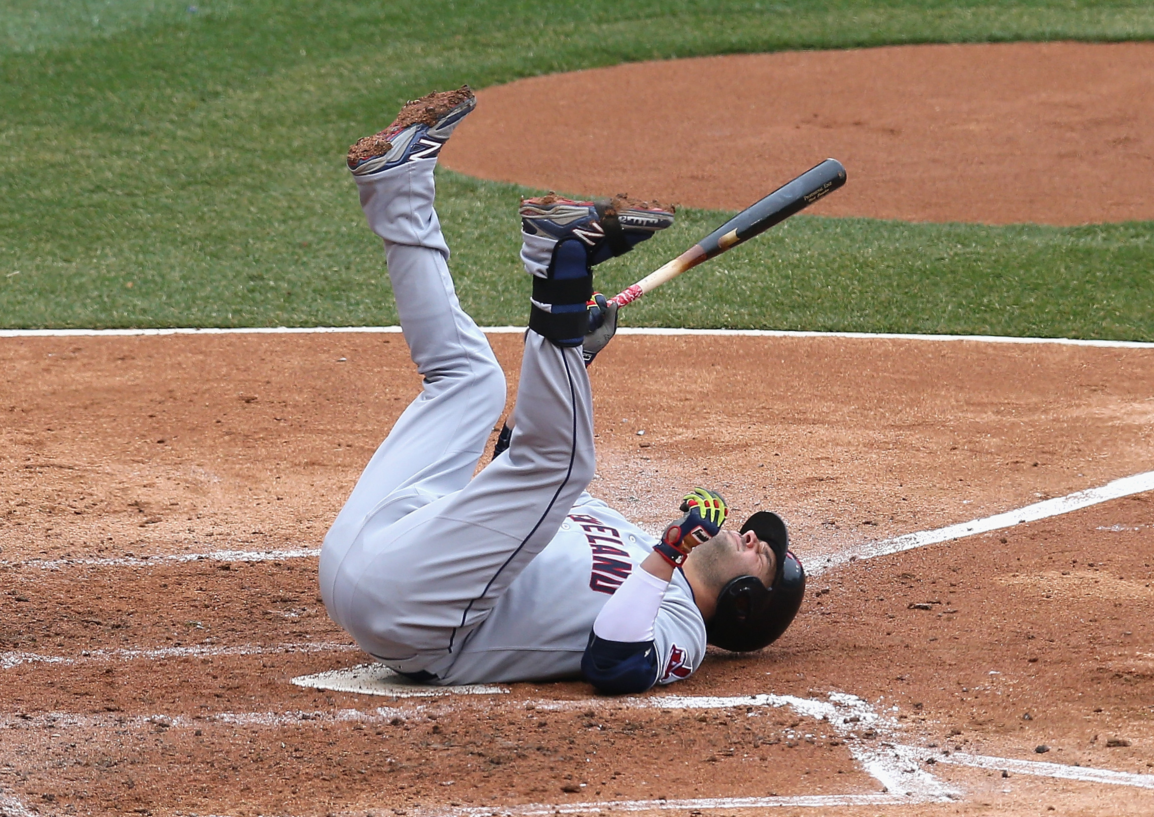 Befuddled with his results, Nick Swisher tries a new approach.