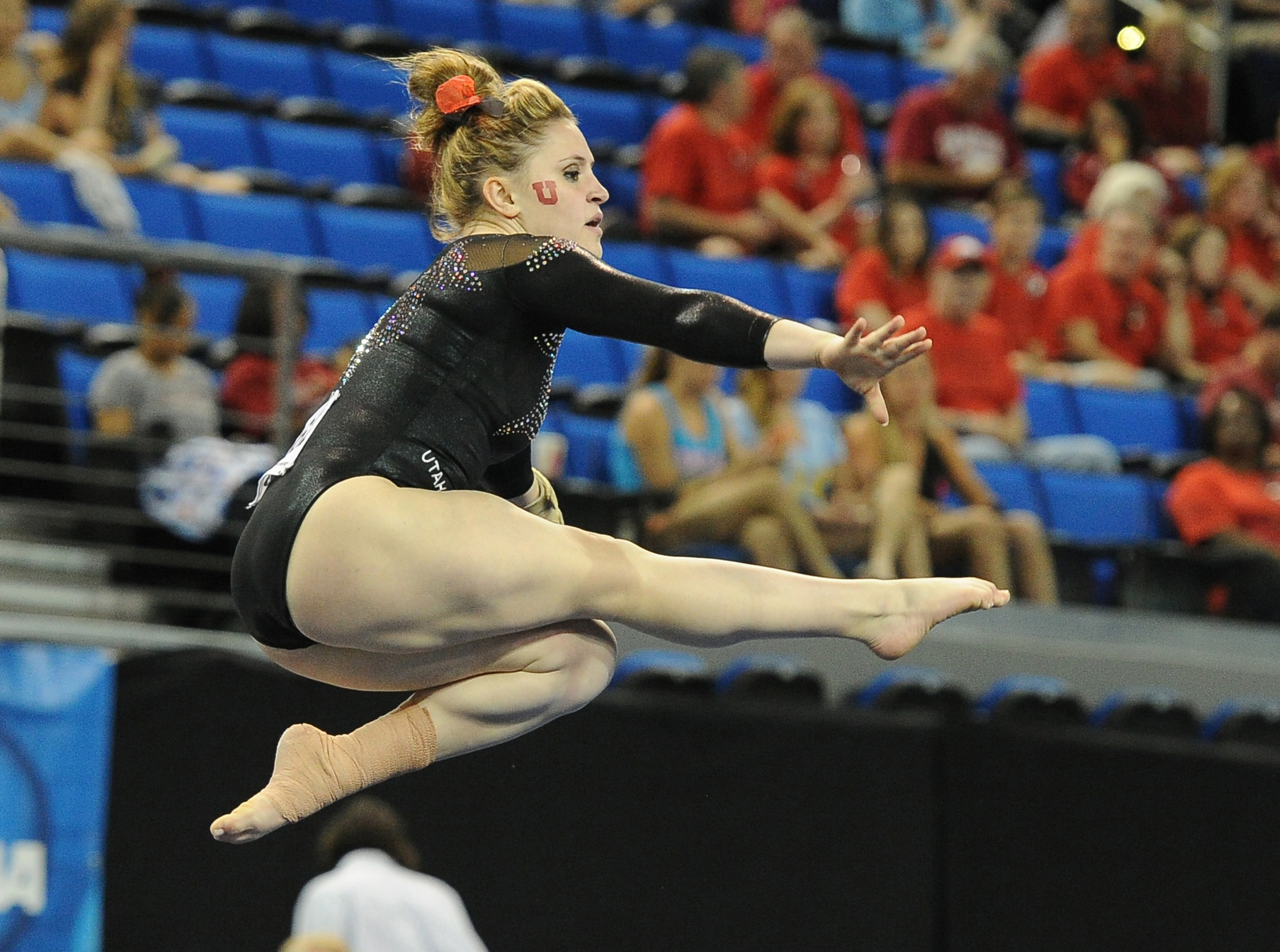 Utah gymnast Beck Tutka and her Red Rocks teammates have their work cut out for them in the 2015 season, defending their Pac-12 title and making a run at a national championship.