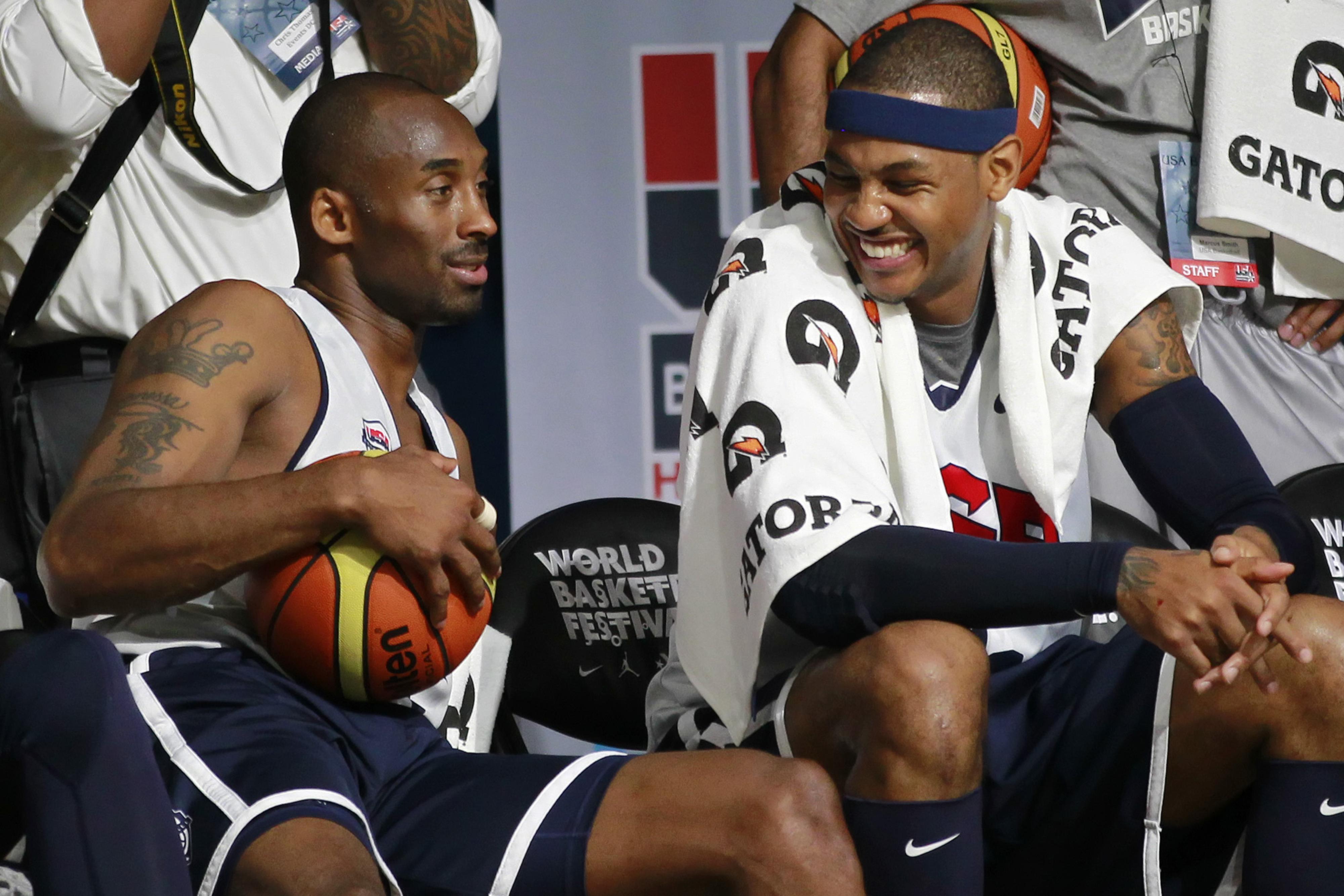 Kobe and Carmelo