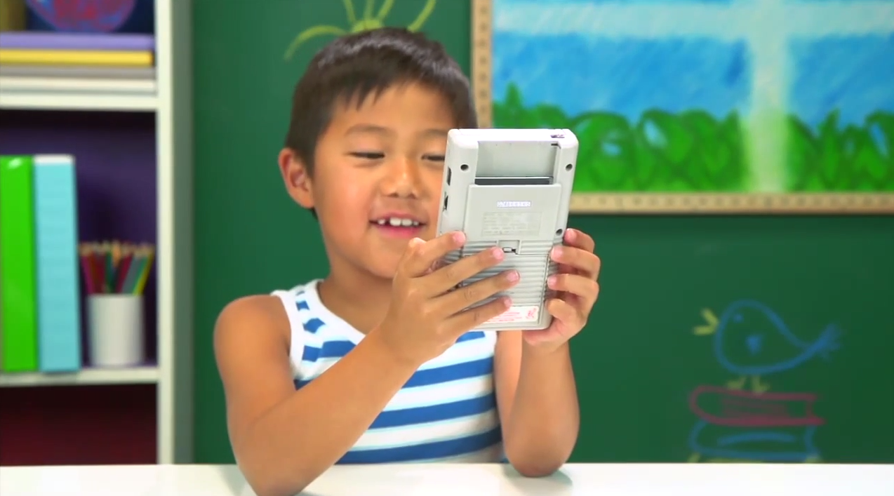 Video of kids reacting to a Game Boy is cruel reminder that you're old, death is inescapable
