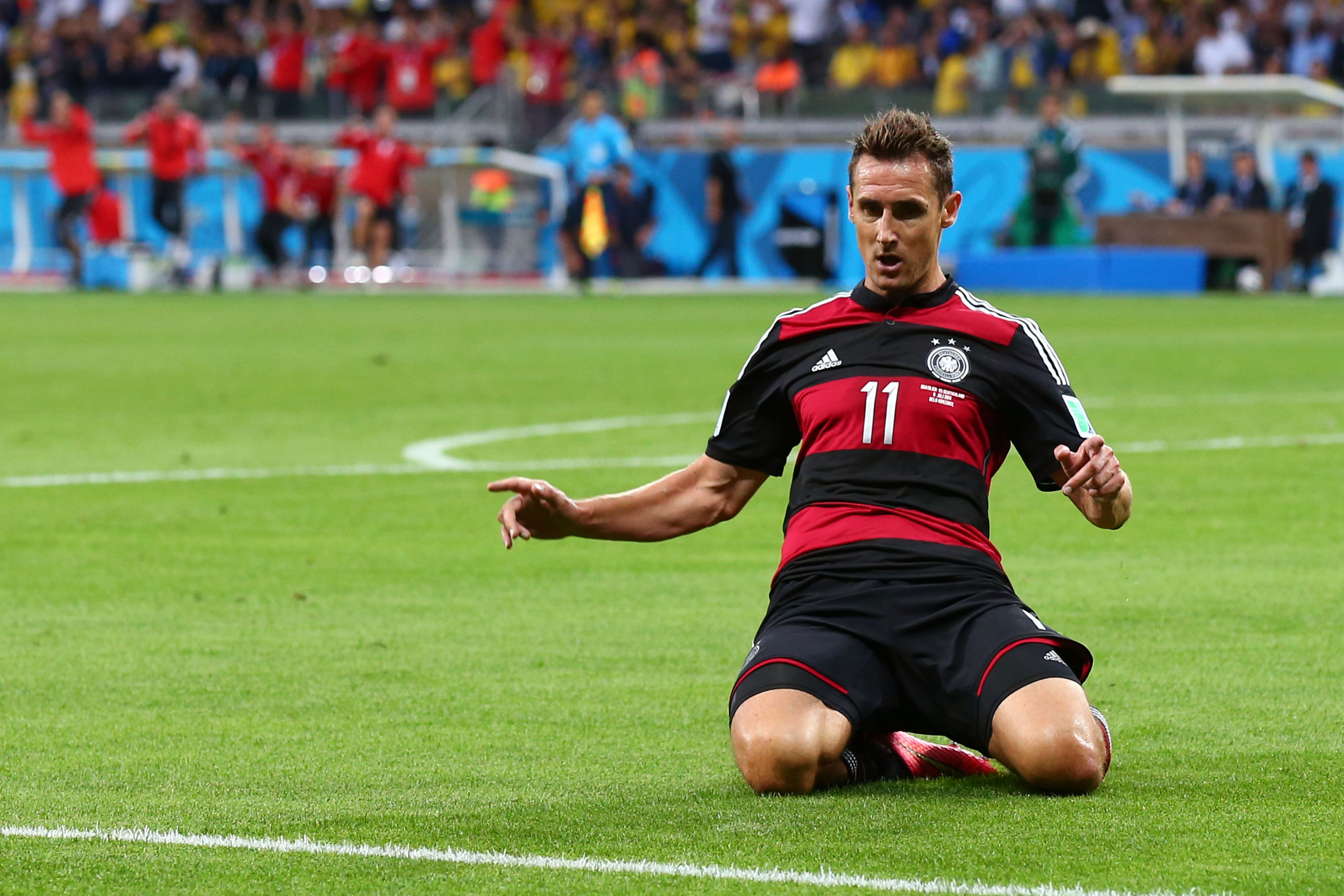 He's not the best player in World Cup history, but he's now the greatest goal scorer.