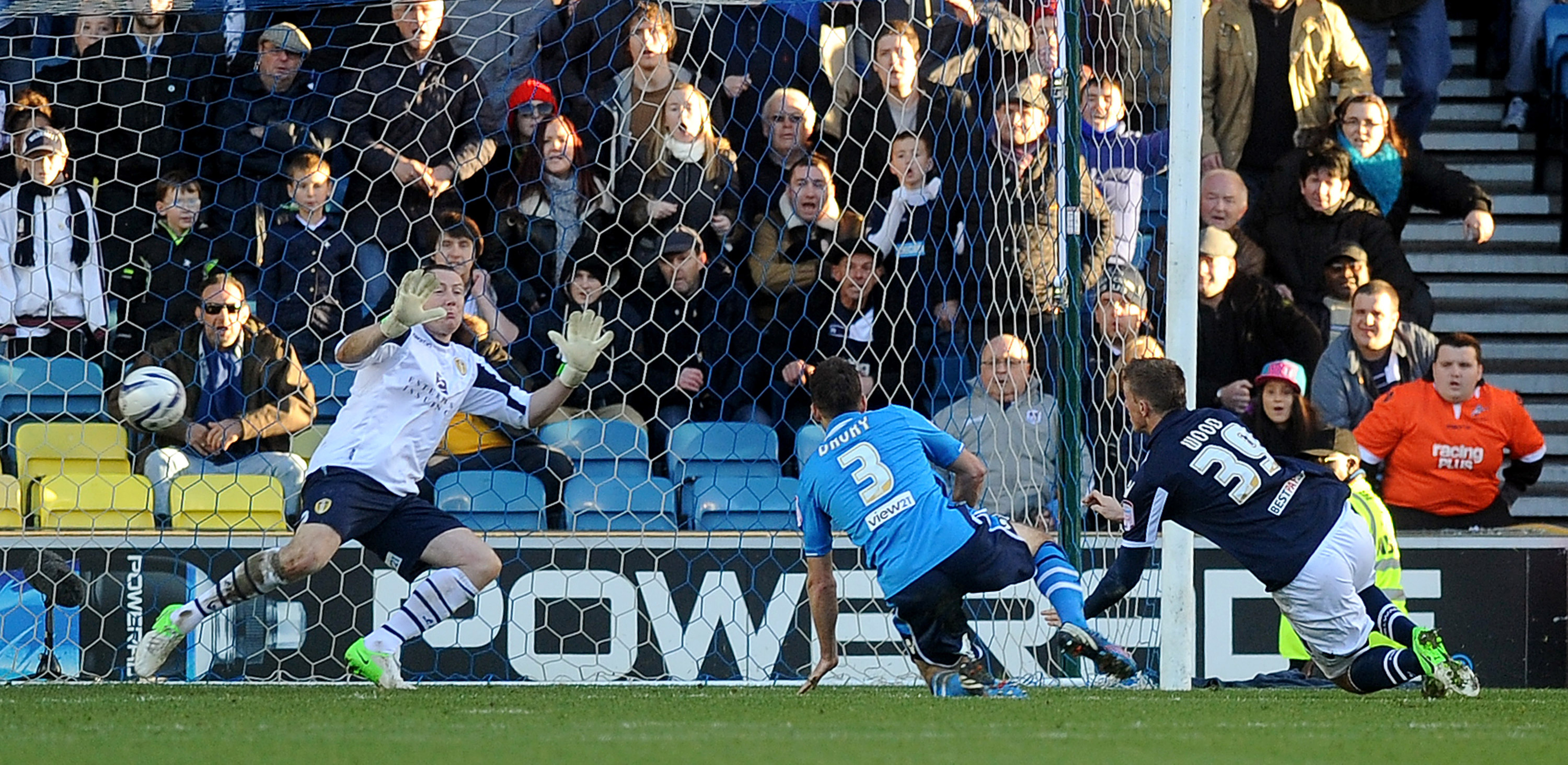 Chris Wood grabbed the only goal of the game.