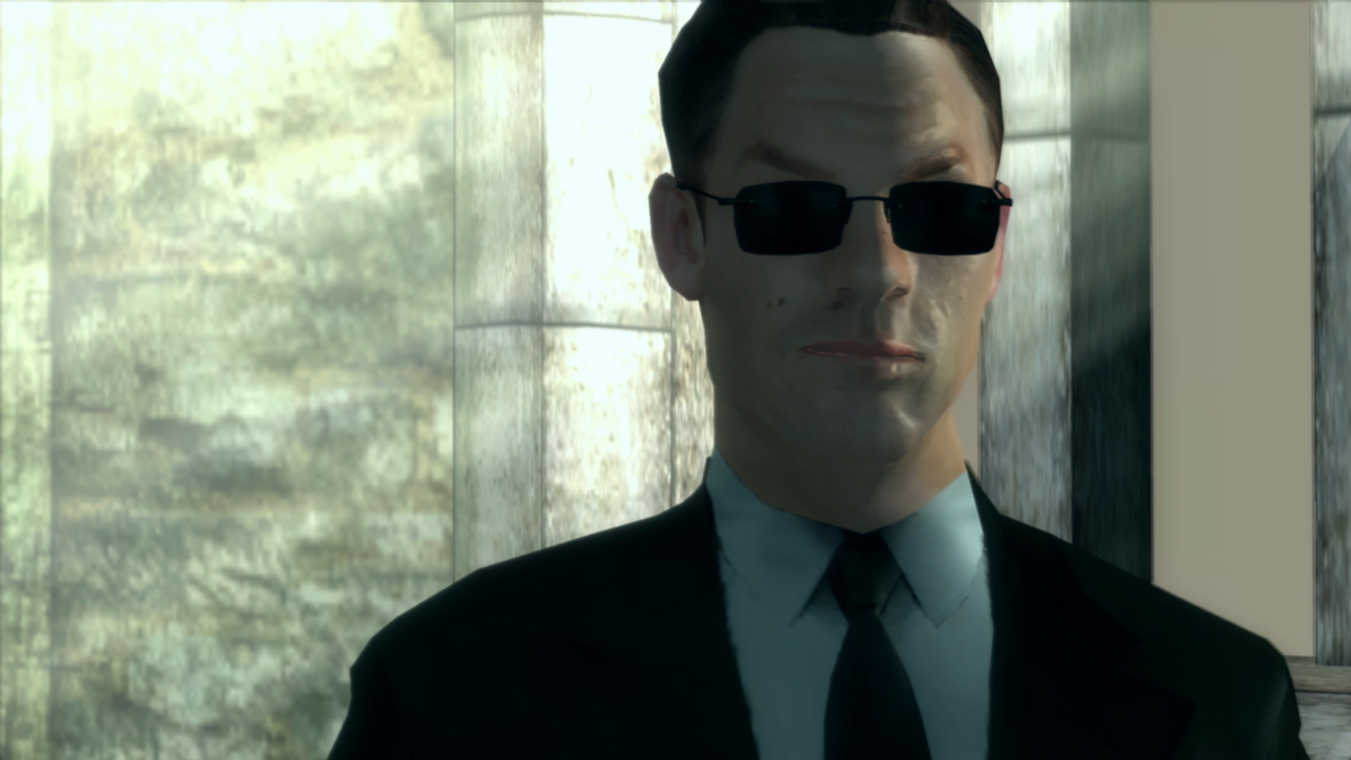 Stop whatever you're doing and watch the end of the Matrix video game