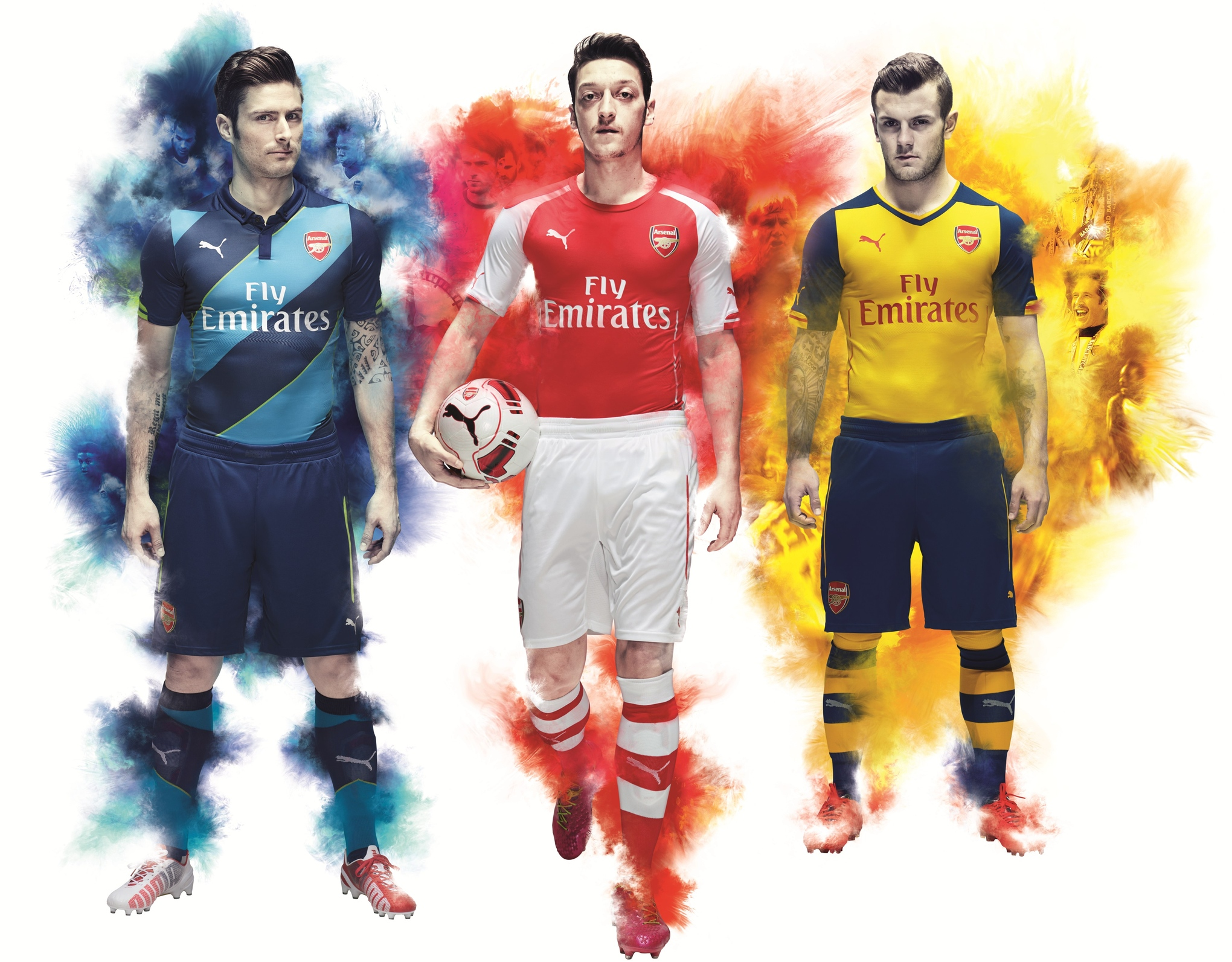 Arsenal's 2014/15 away kit recalls Invincibles, cup kit channels cult classic