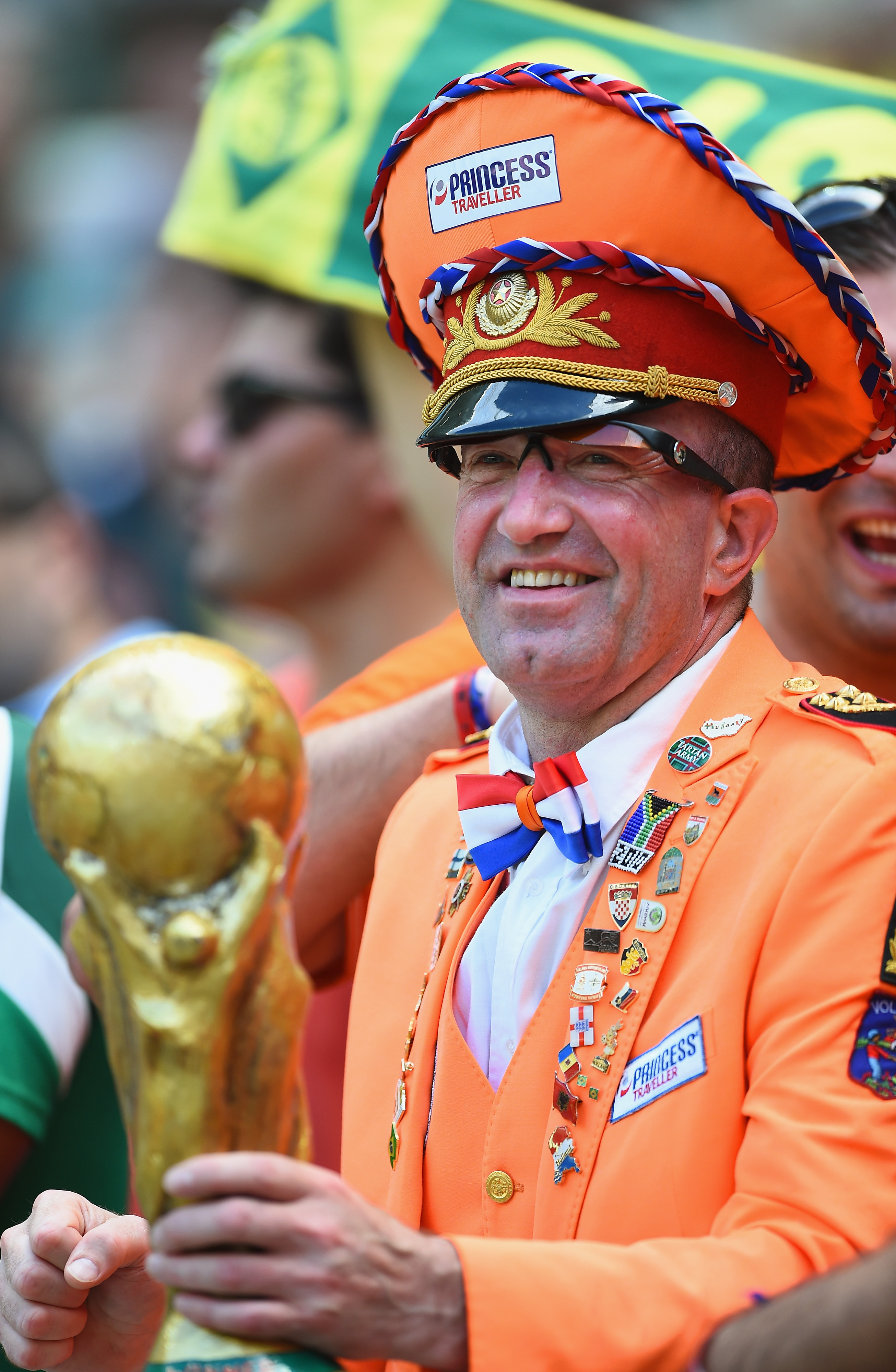 Dutch superfan promoted to captain by Robin van Persie