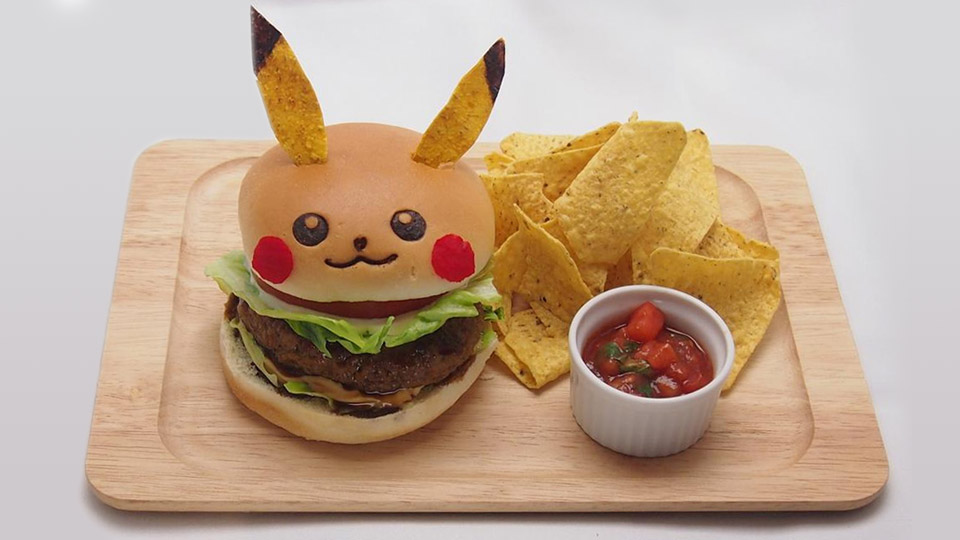 Japan's Pikachu Cafe lets you eat Pokémon in burger and curry form
