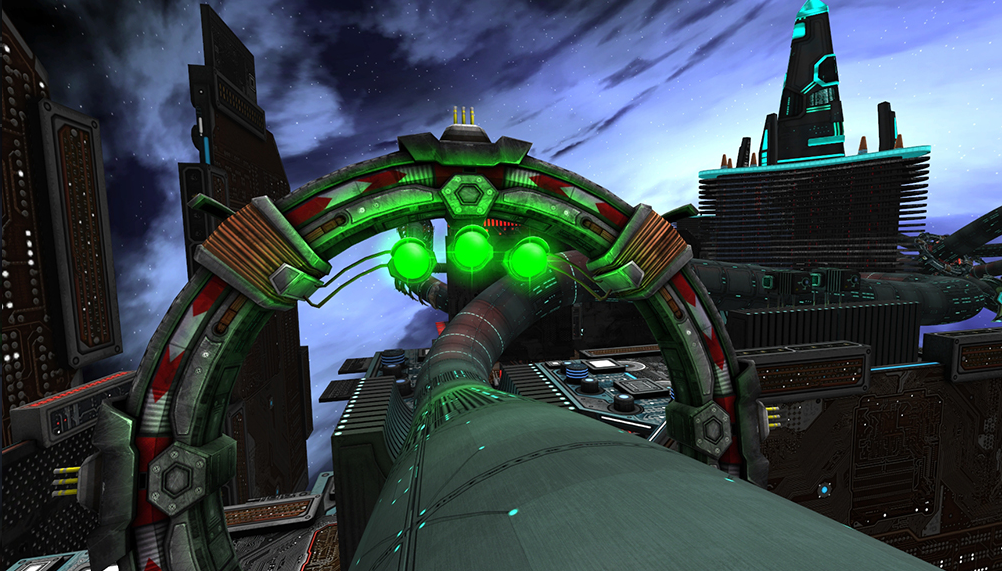 Radial G is fast, beautiful and shows mastery of virtual reality design
