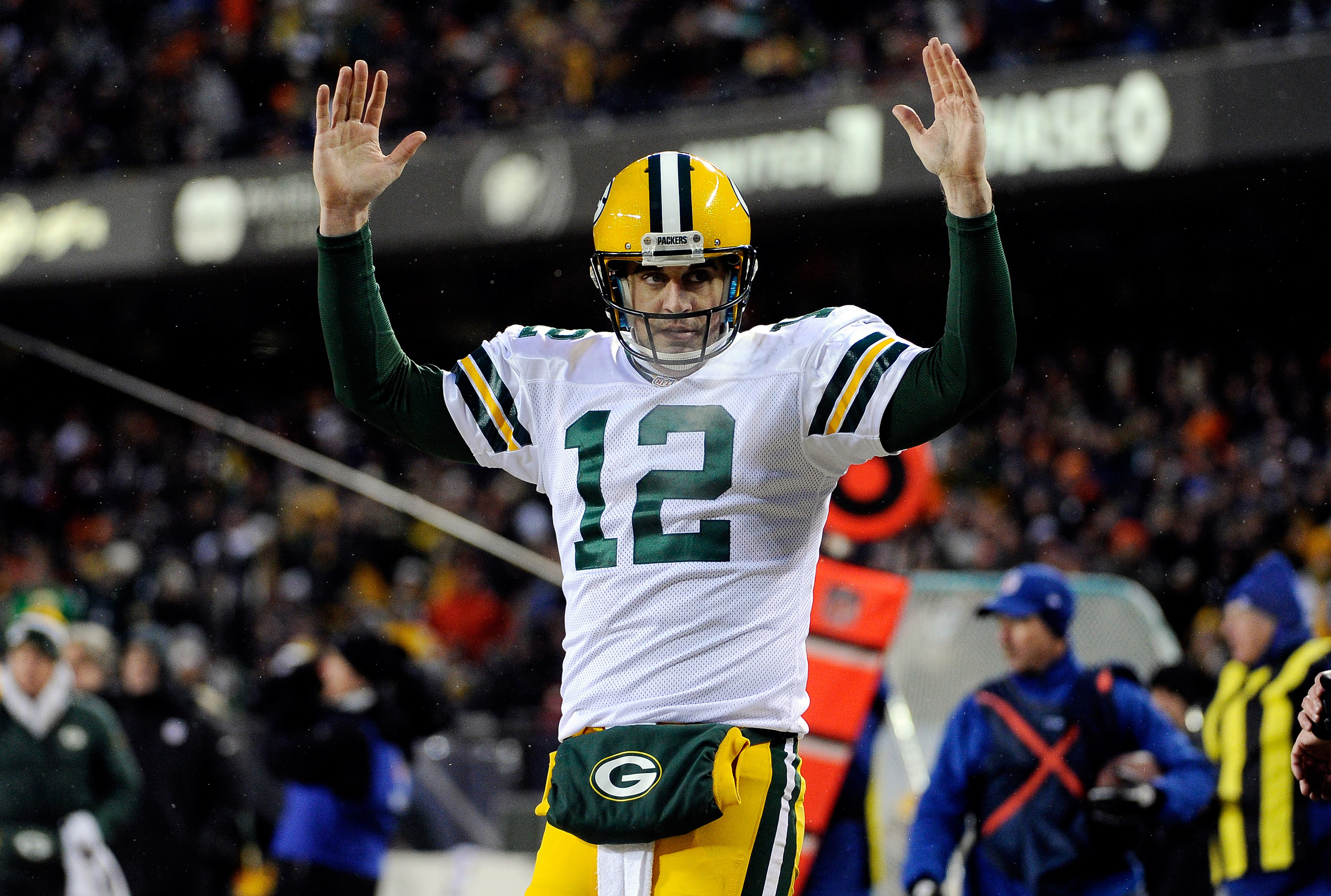 Aaron Rodgers is really good at football.