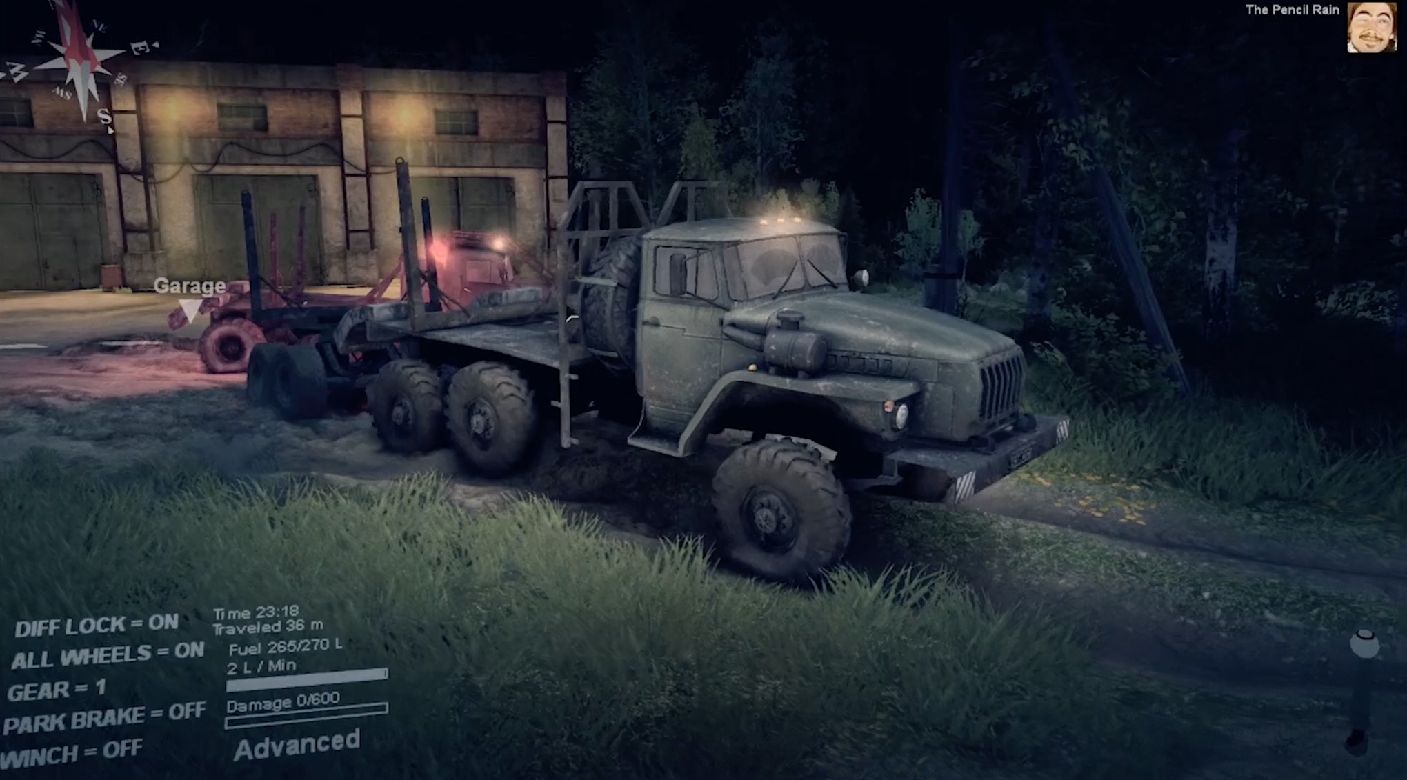 How to fly in Spintires