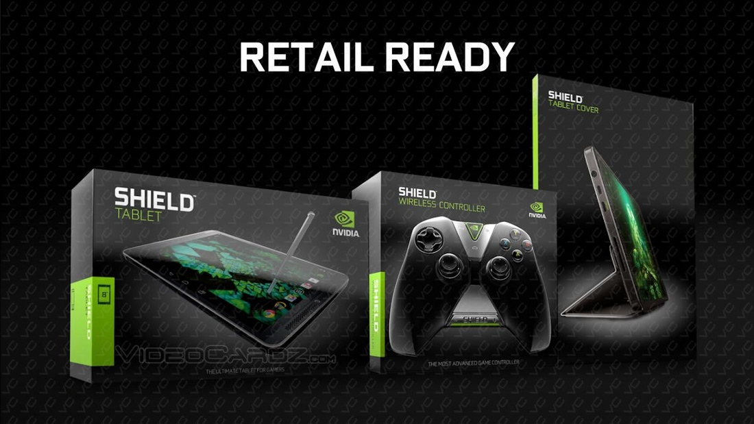 Report: Nvidia's 8-inch Shield Tablet and controller hit July 29 beginning at $299