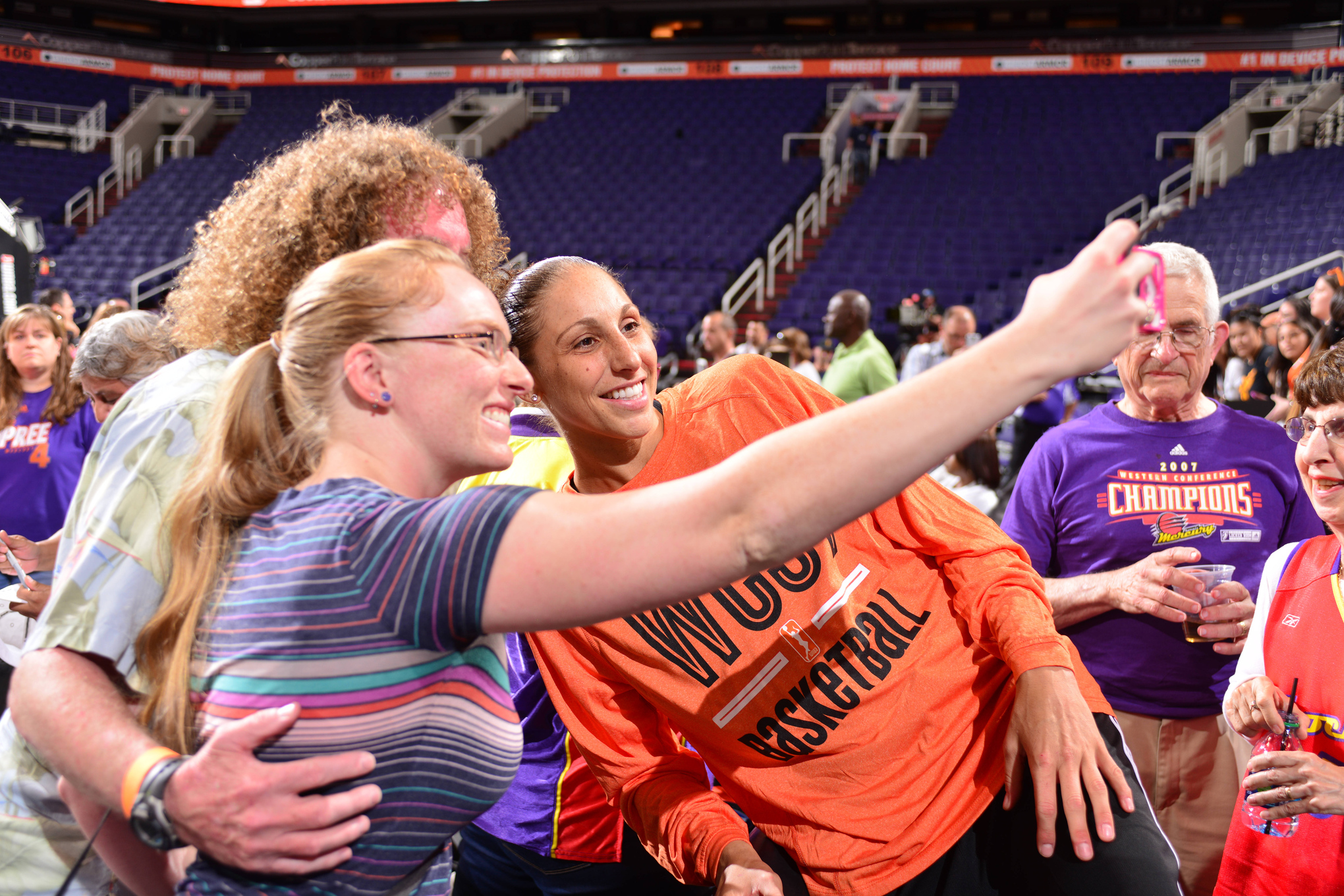 The game's on soon. But first, #LetMeTakeASelfie