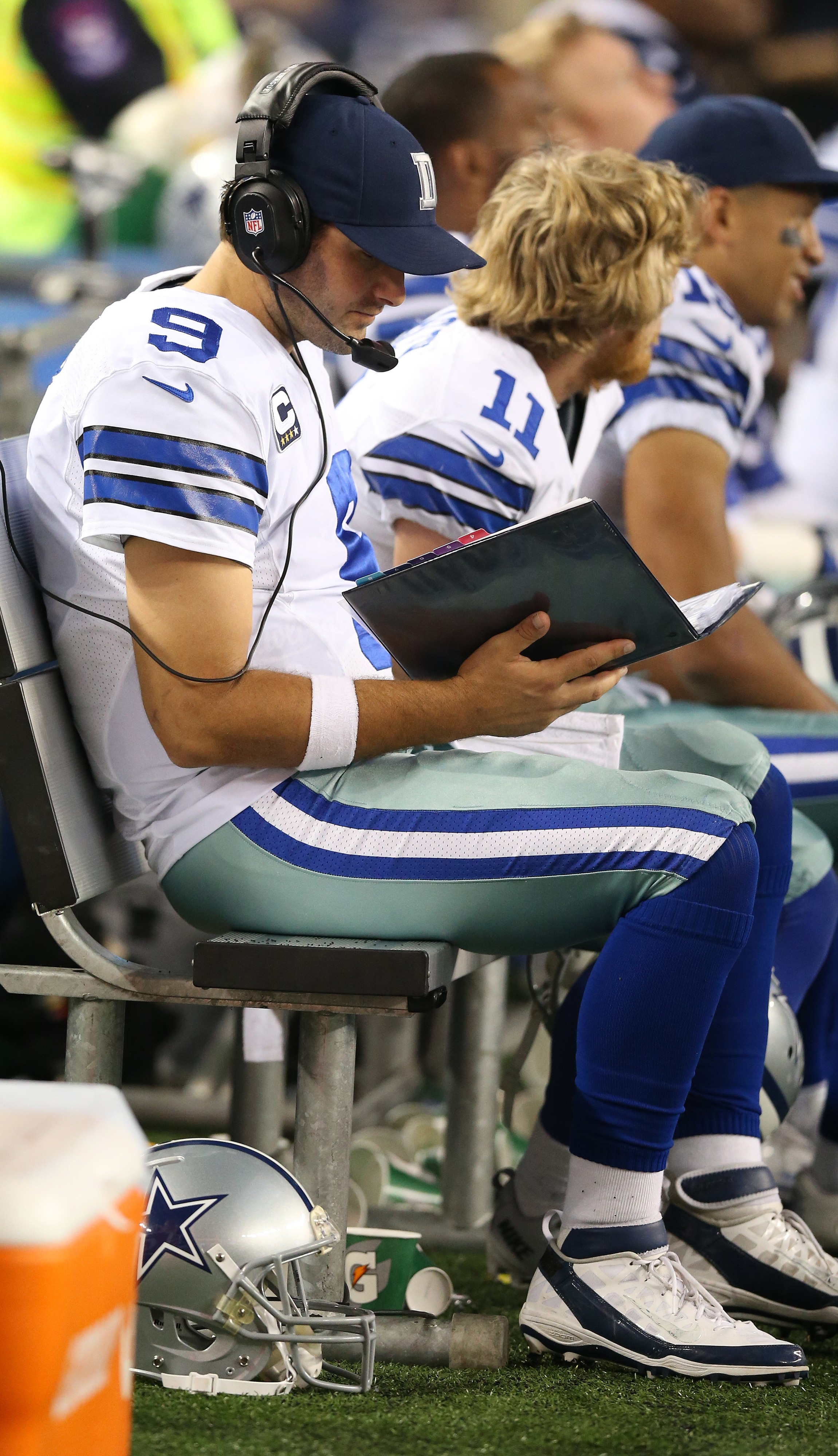 Looking at the playbook