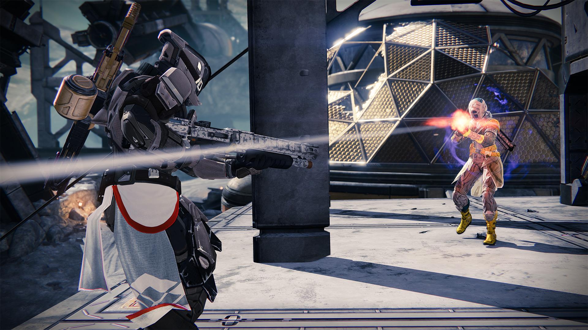 Destiny beta goes offline for two days