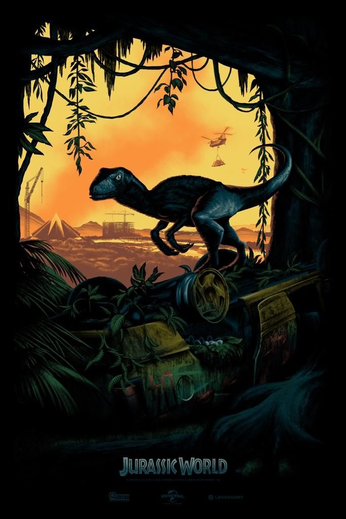 Jurassic World's first poster is here, looks better than any Jurassic Park video game