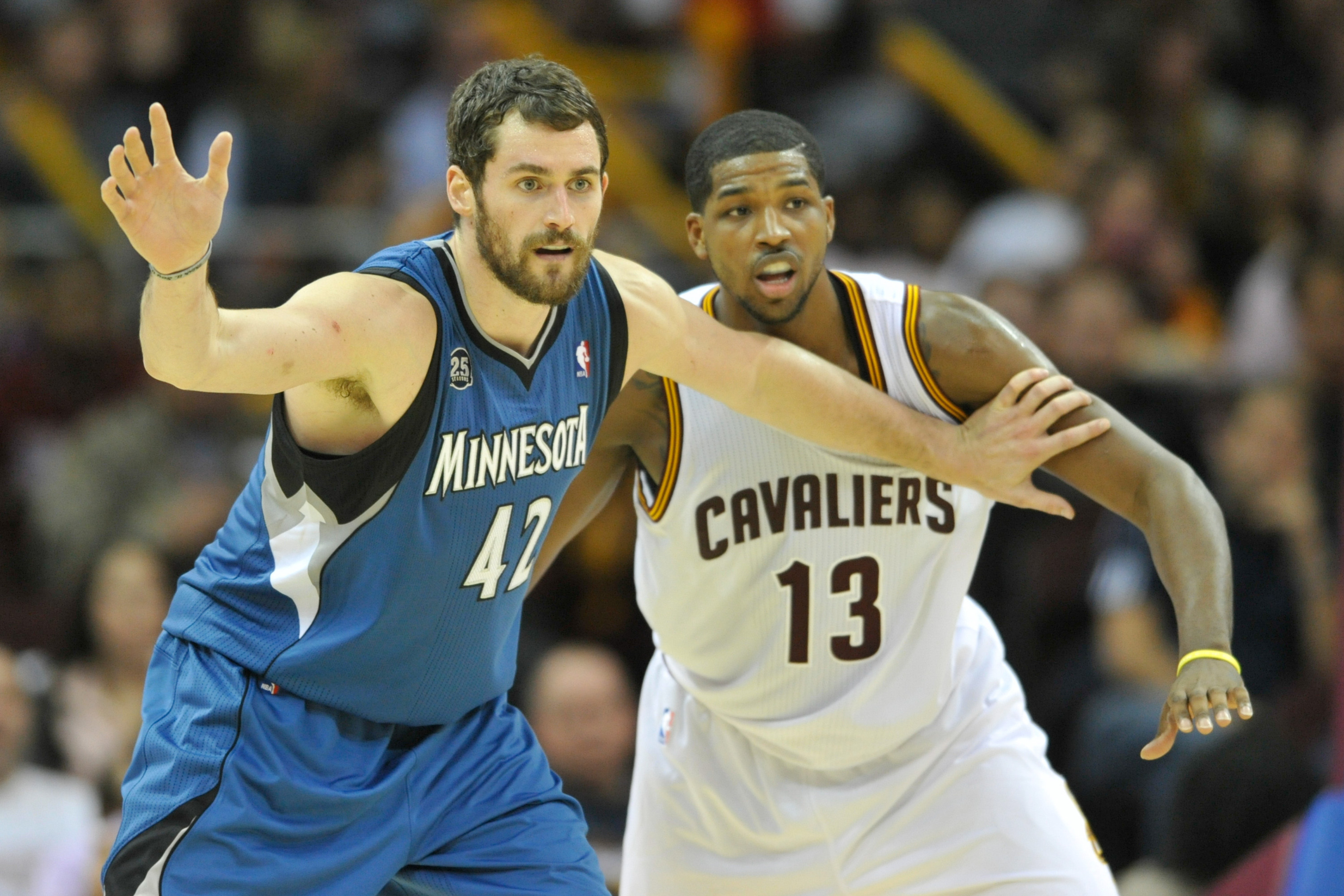 Cavaliers 'confident' they'll land Kevin Love in trade involving Andrew Wiggins