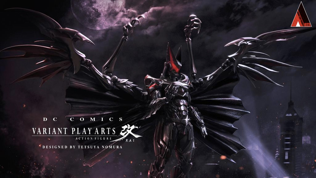 Final Fantasy designer Tetsuya Nomura shows his extreme take on Batman