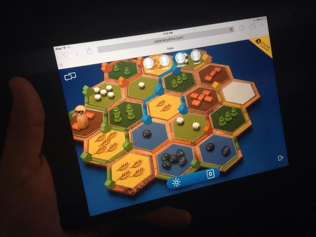 Play Settlers of Catan Anytime thanks to HTML 5