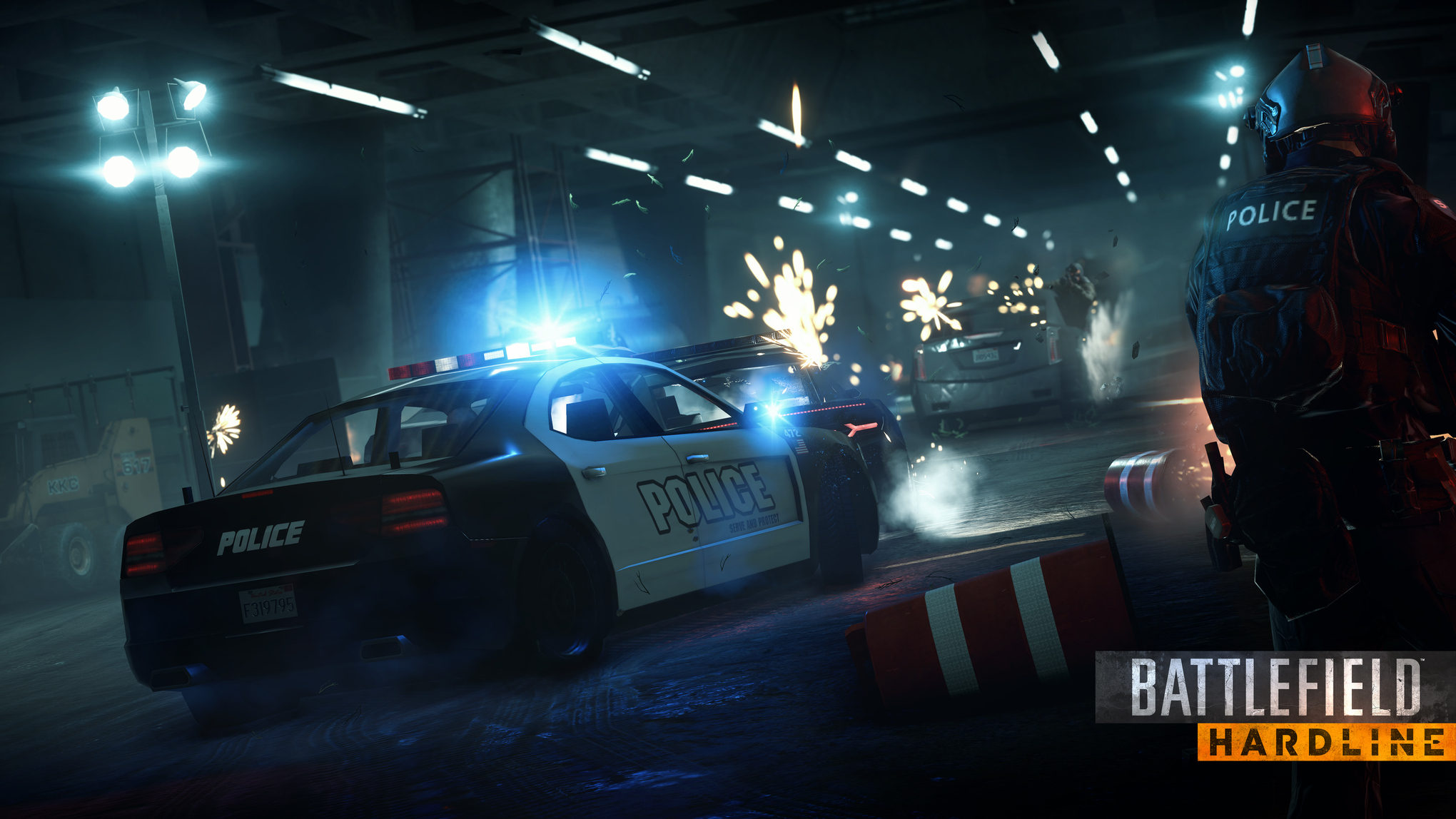 Battlefield Hardline's single-player tells the story of a good cop framed