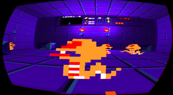 Legend of Zelda in virtual reality is both familiar and completely terrifying
