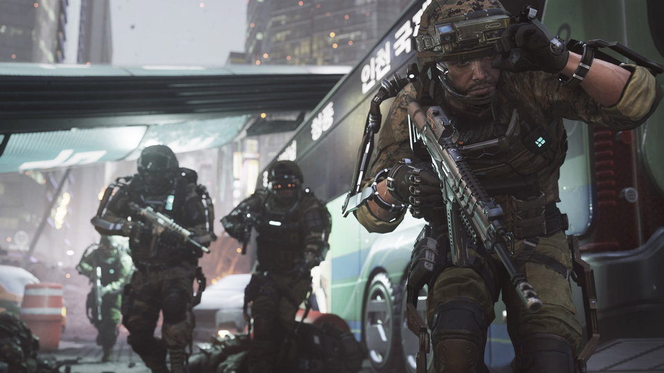Call of Duty: Advanced Warfare is 'the equivalent of four Hollywood movies' says Sledgehammer