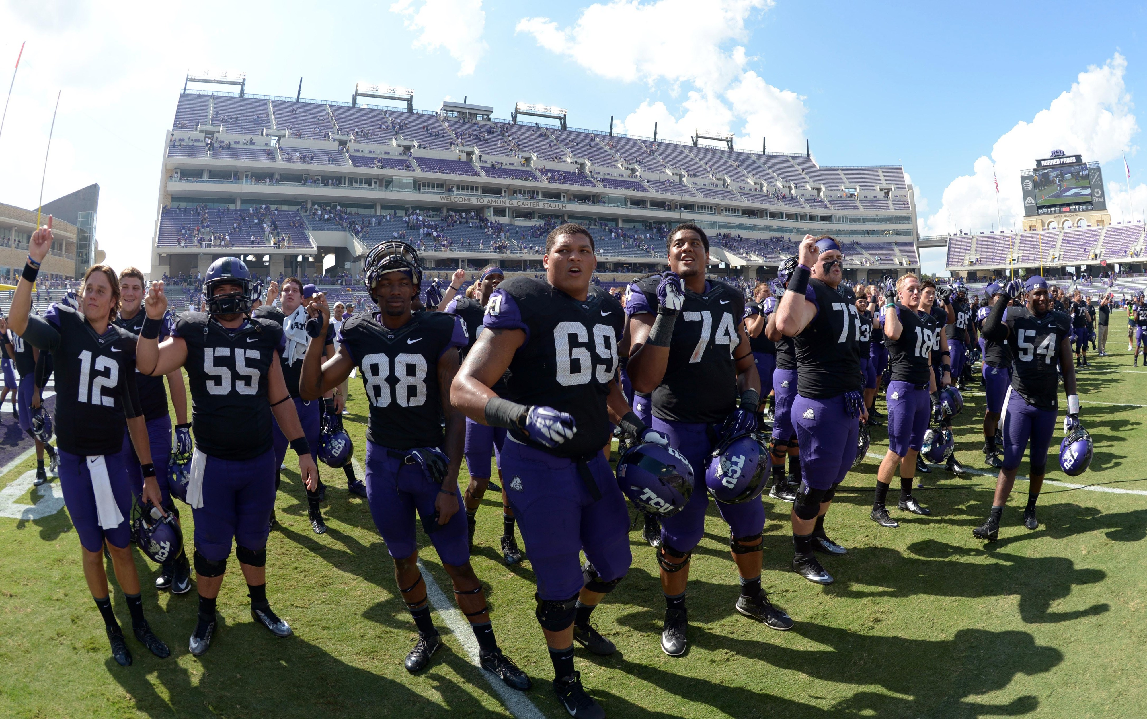 More reasons to smile about the big fellas would make TCU very happy