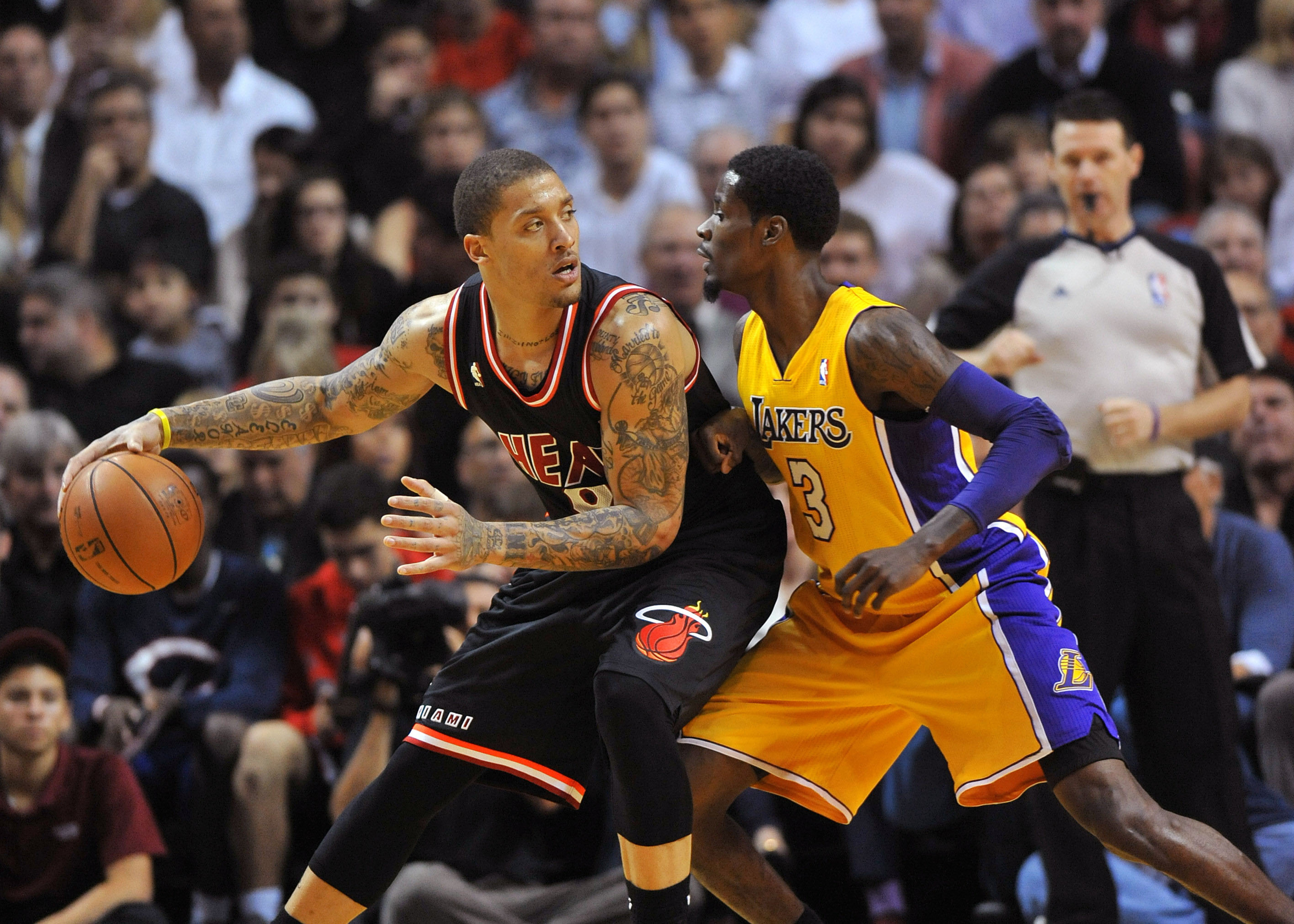 Michael Beasley and the Lakers need each other